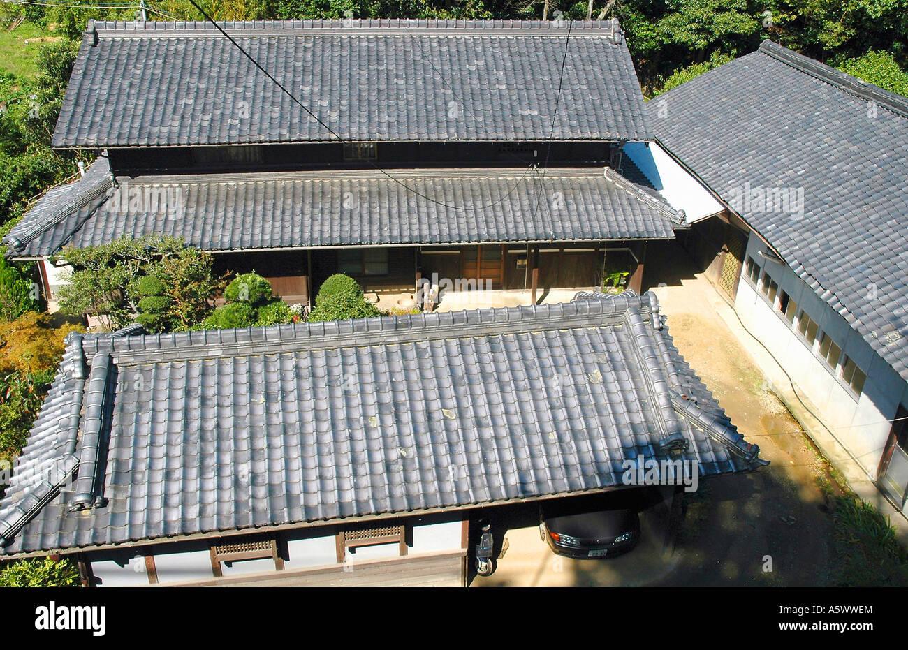 Les Juges Painet3416 Japon Honshu Ishikiri Mt Ikoma Trail Maison