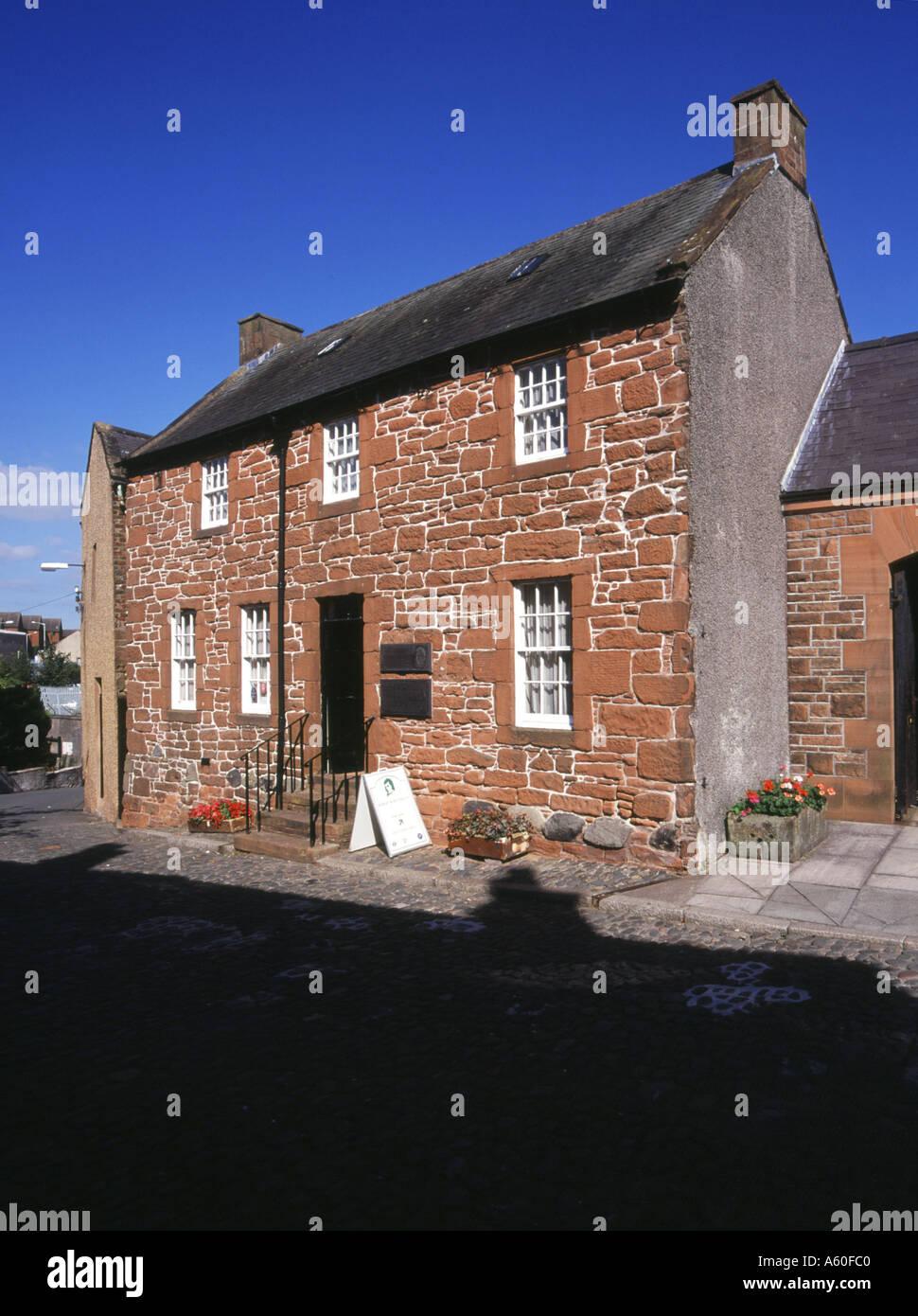musée dh Robert Burns ecosse DUMFRIES GALLOWAY Rabbie Burns maison Poets tourisme Banque D'Images