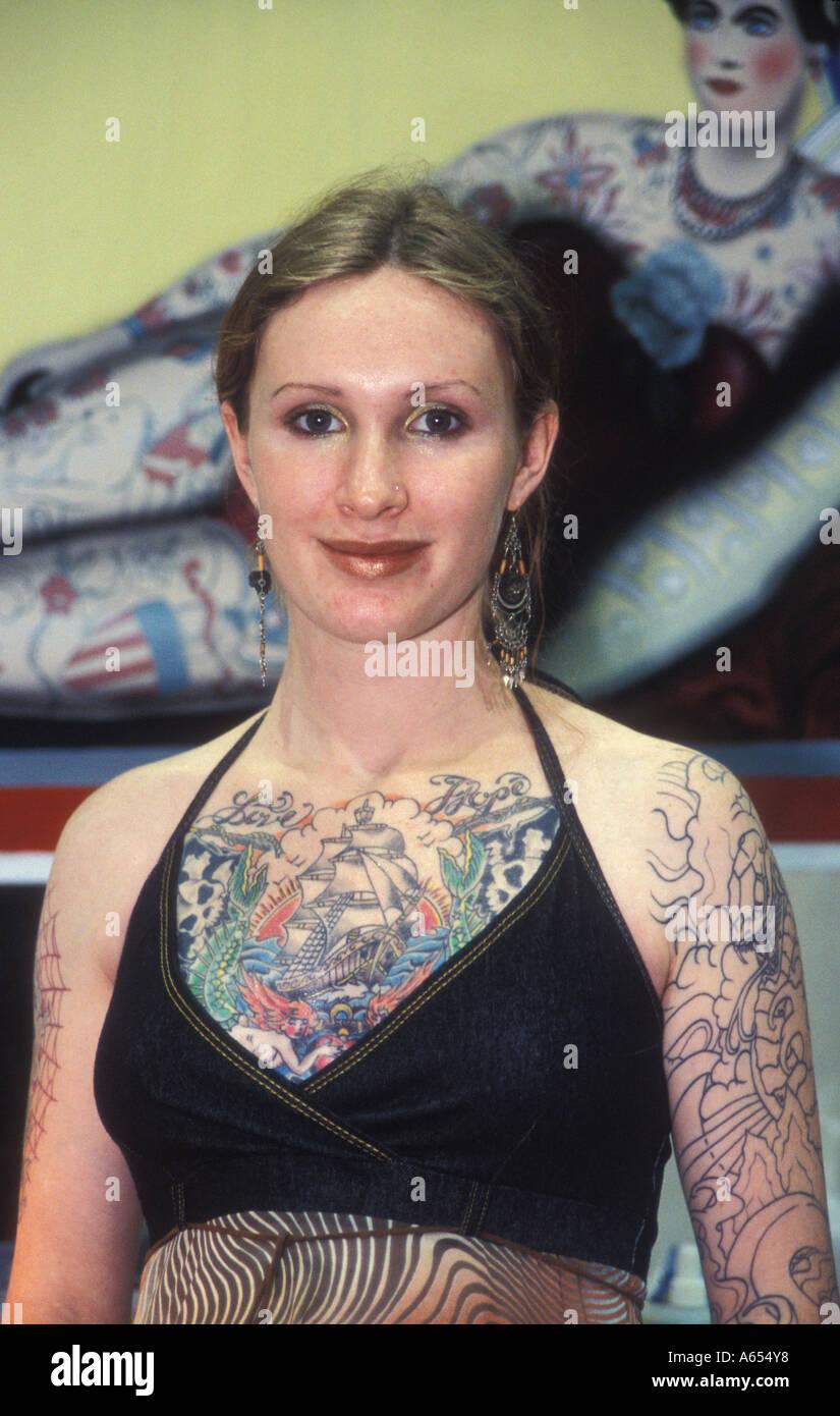 Le Body Art Expo Pomona Fairplex Californie Photo Stock