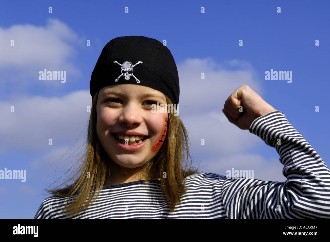 Girl 10Ans Years Pirate Fille