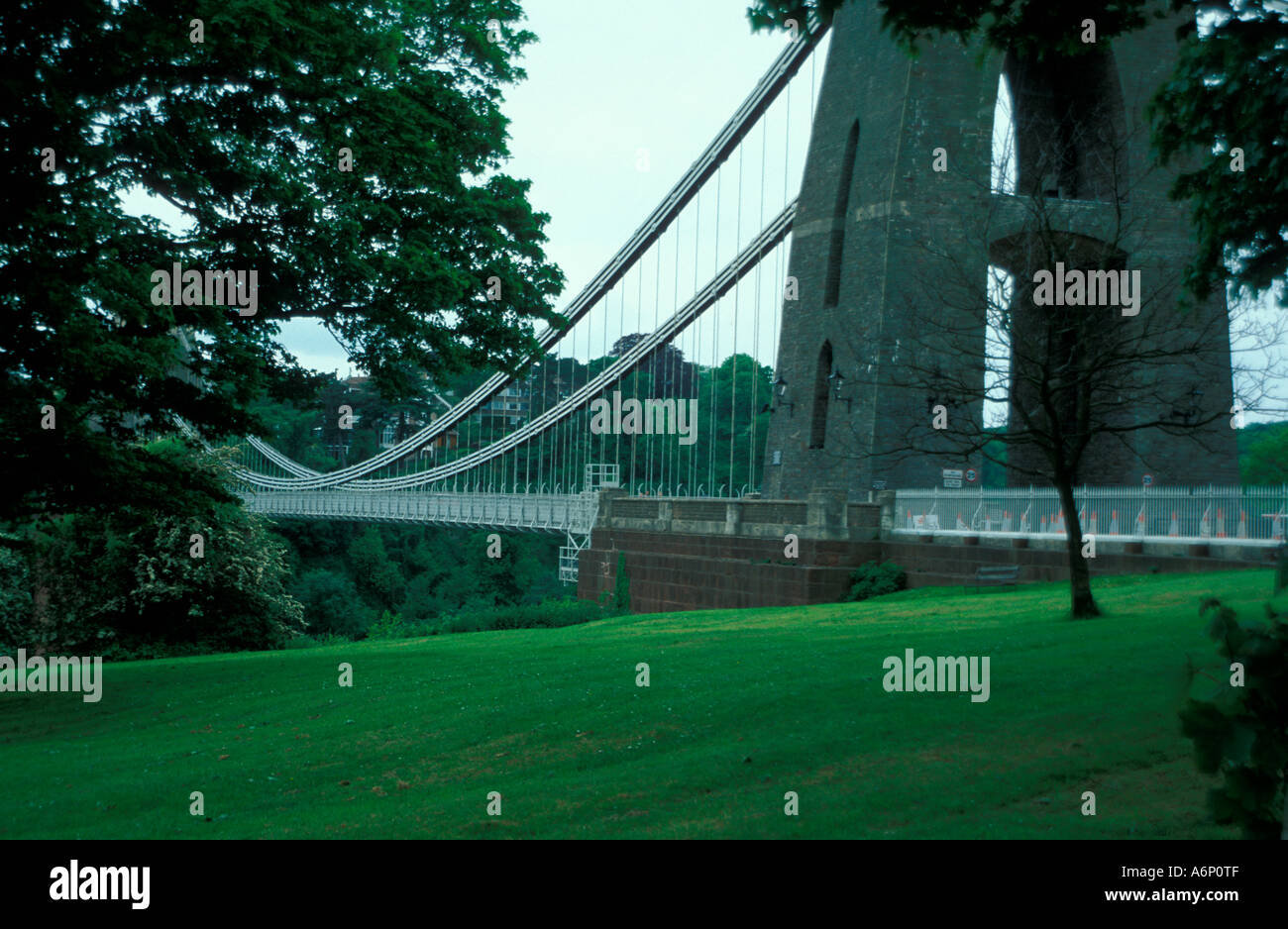 Pont suspendu de Clifton et l'Angleterre Bristol Avon Gorge Banque D'Images