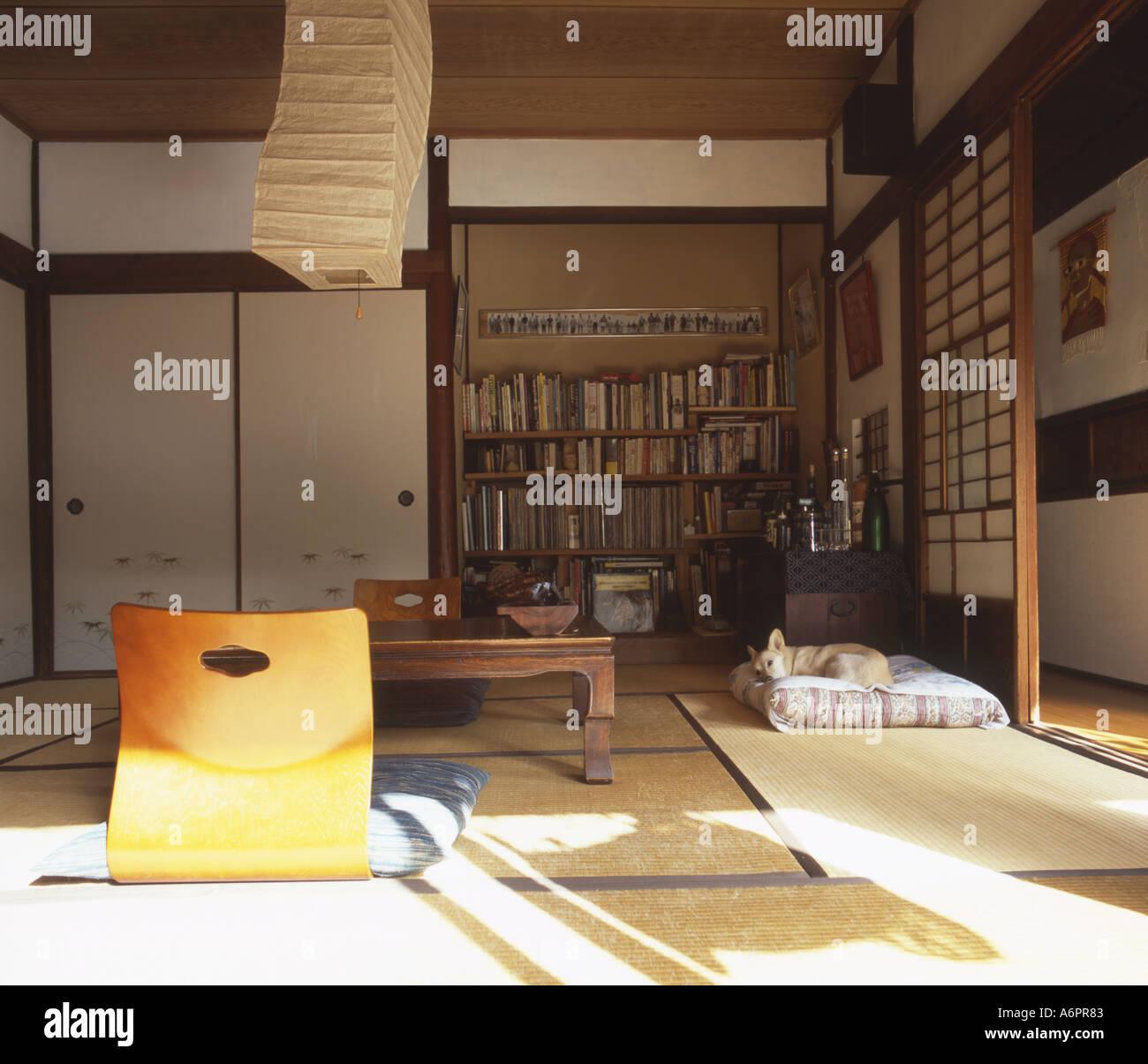 L Interieur Typique D Une Maison Japonaise Banque D Images Photo