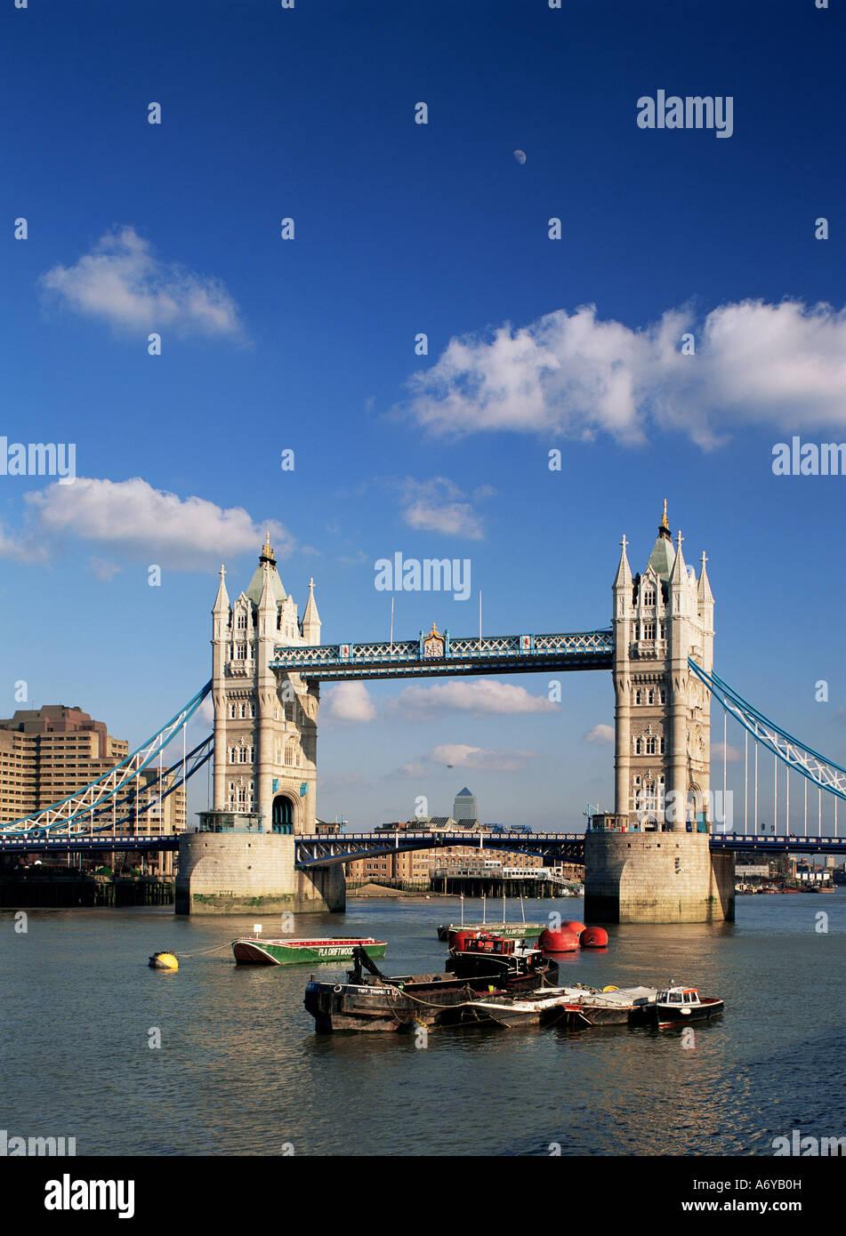 Tower Bridge Londres Angleterre Royaume-Uni Europe Photo Stock