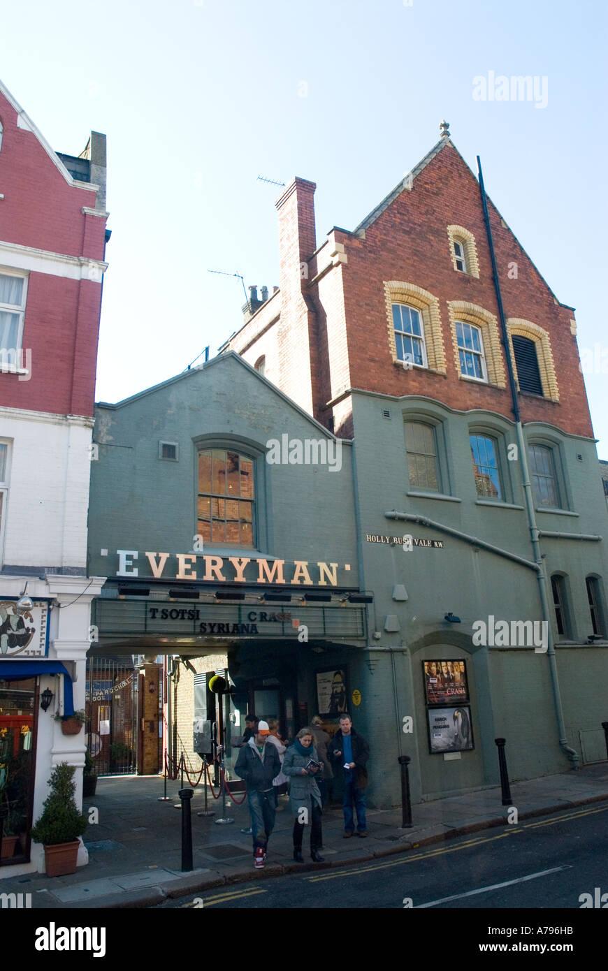 Cinéma Everyman Hampstead Londres Royaume-Uni Grande-Bretagne Photo Stock