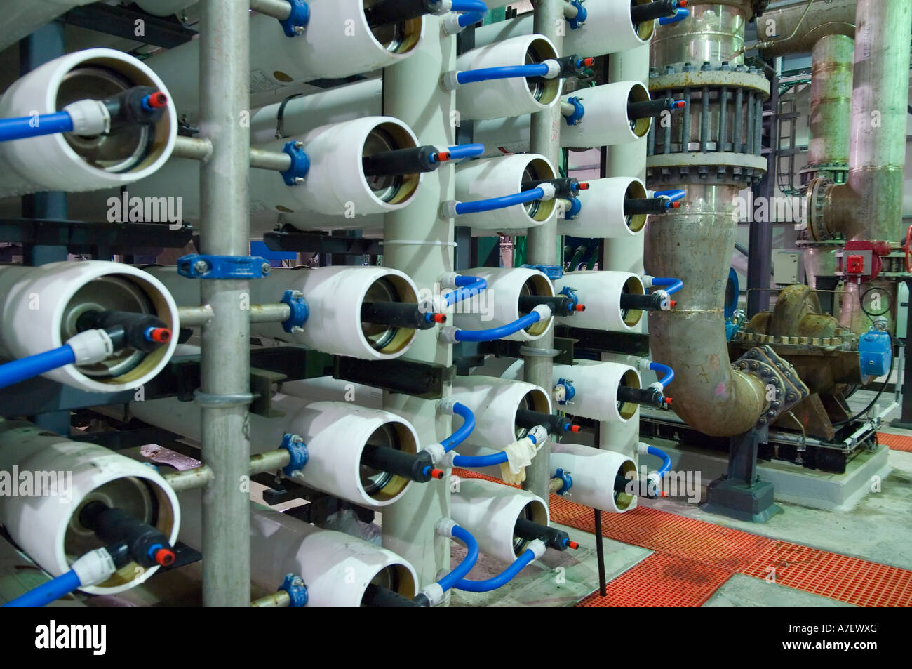 Station de dessalement d'Ashkelon Israël unités de dessalement