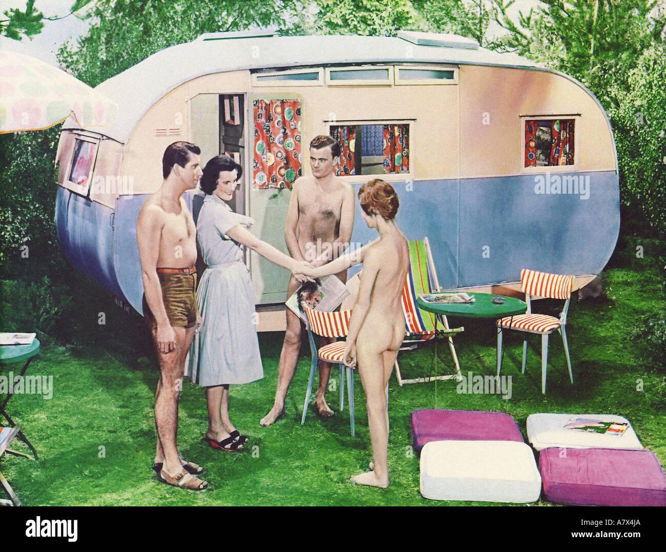 Histoire Nudiste Film 1959 Photo Stock Alamy