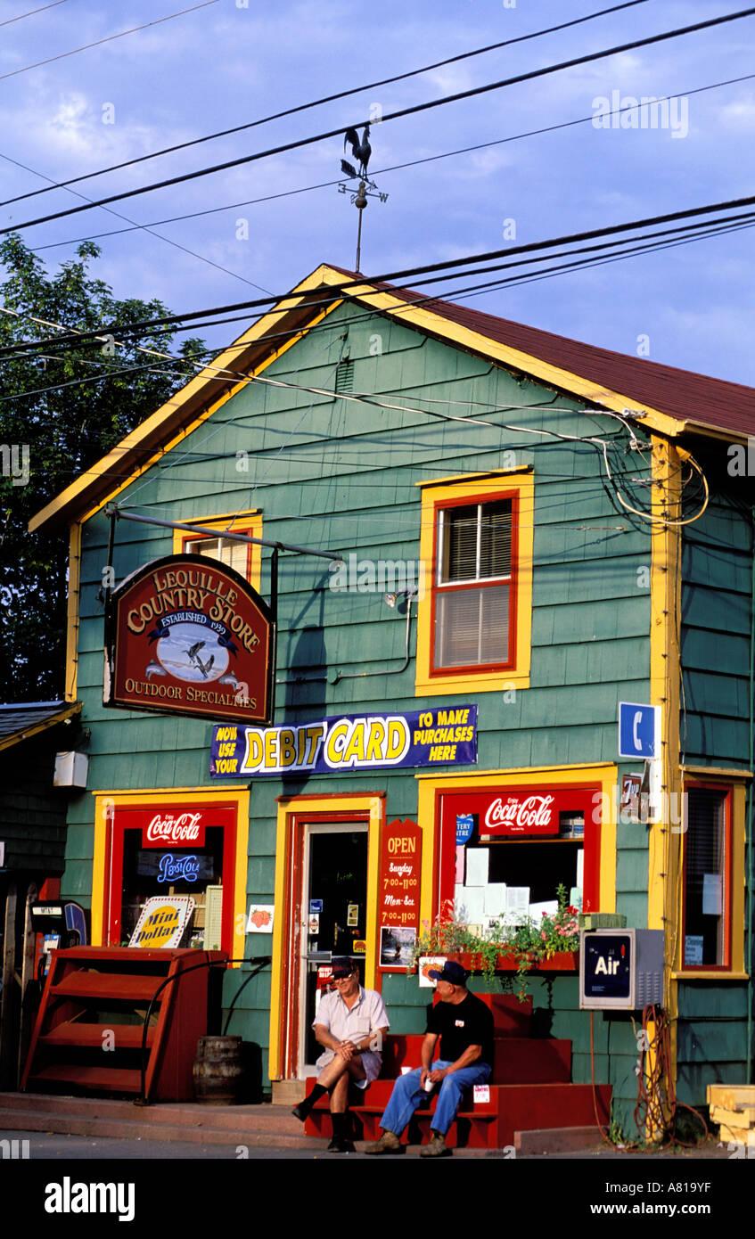 Le Canada, la Nouvelle-Écosse, Annapolis Royal, country store Banque D'Images