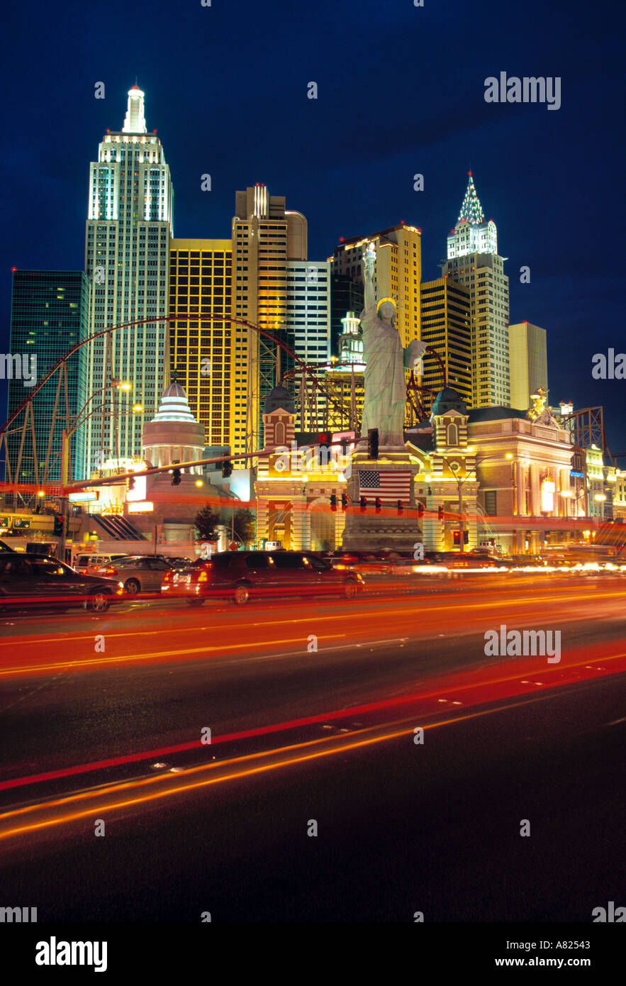 New York, Las Vegas, Nevada, USA Photo Stock