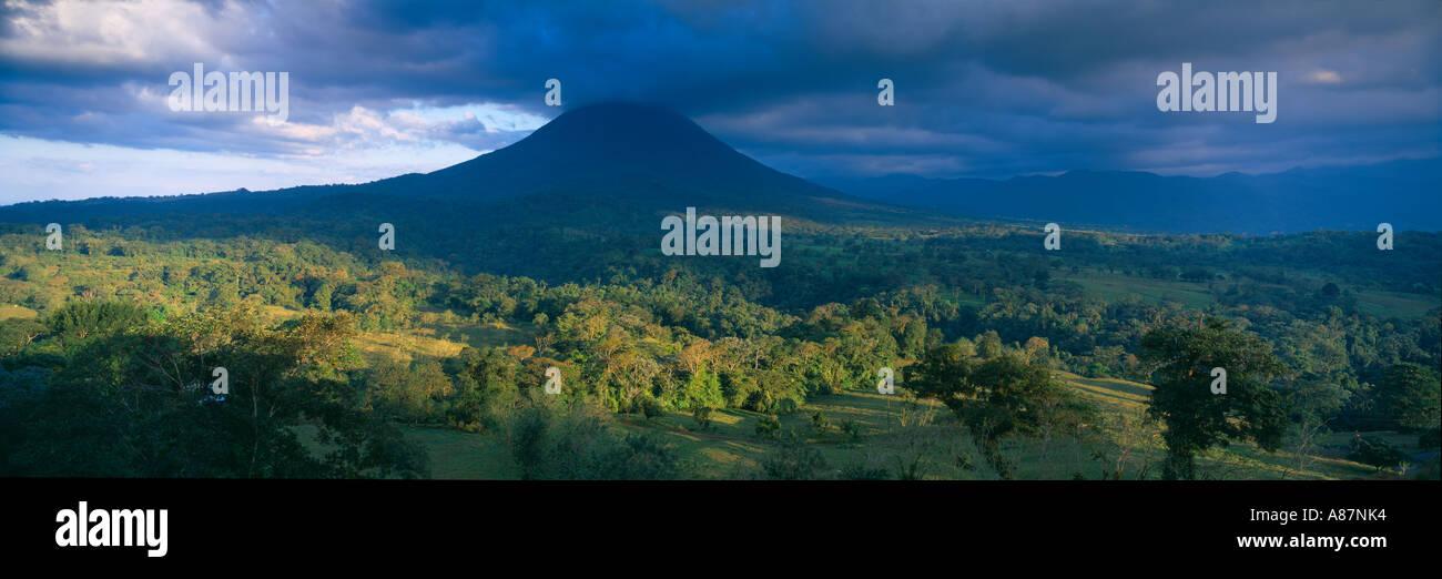 Volanco Zona Norte Arenal Costa Rica Photo Stock