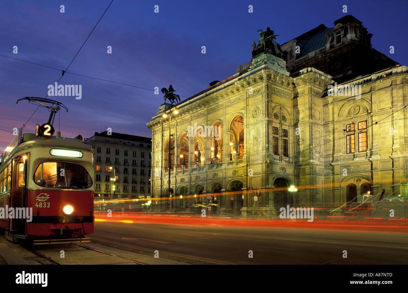 De l'Opéra Vienne Autriche Photo Stock