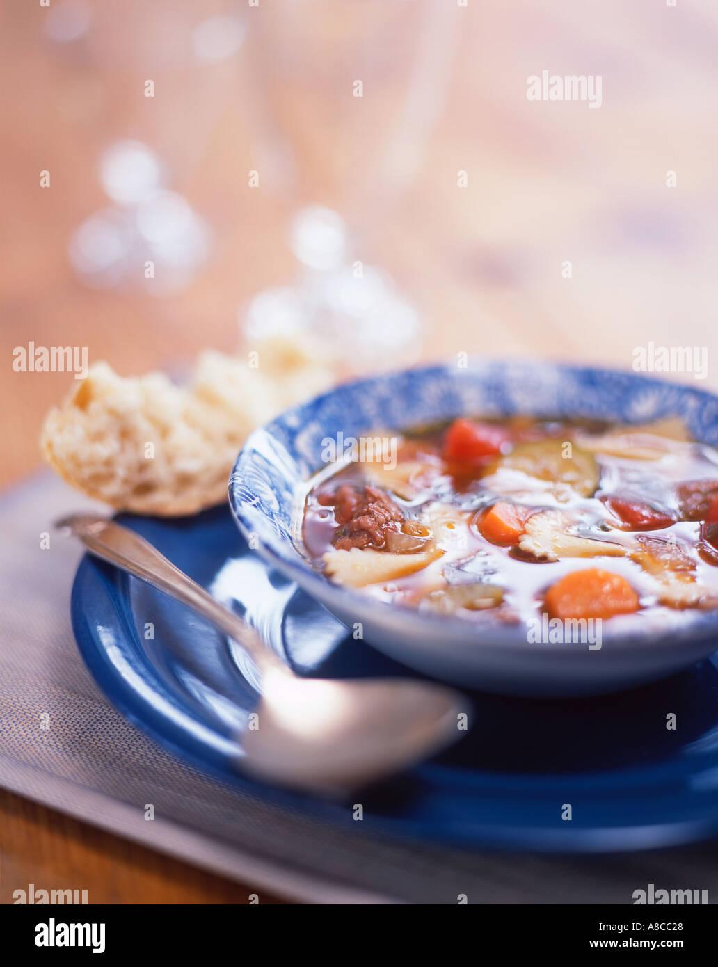 Soupe Photo Stock