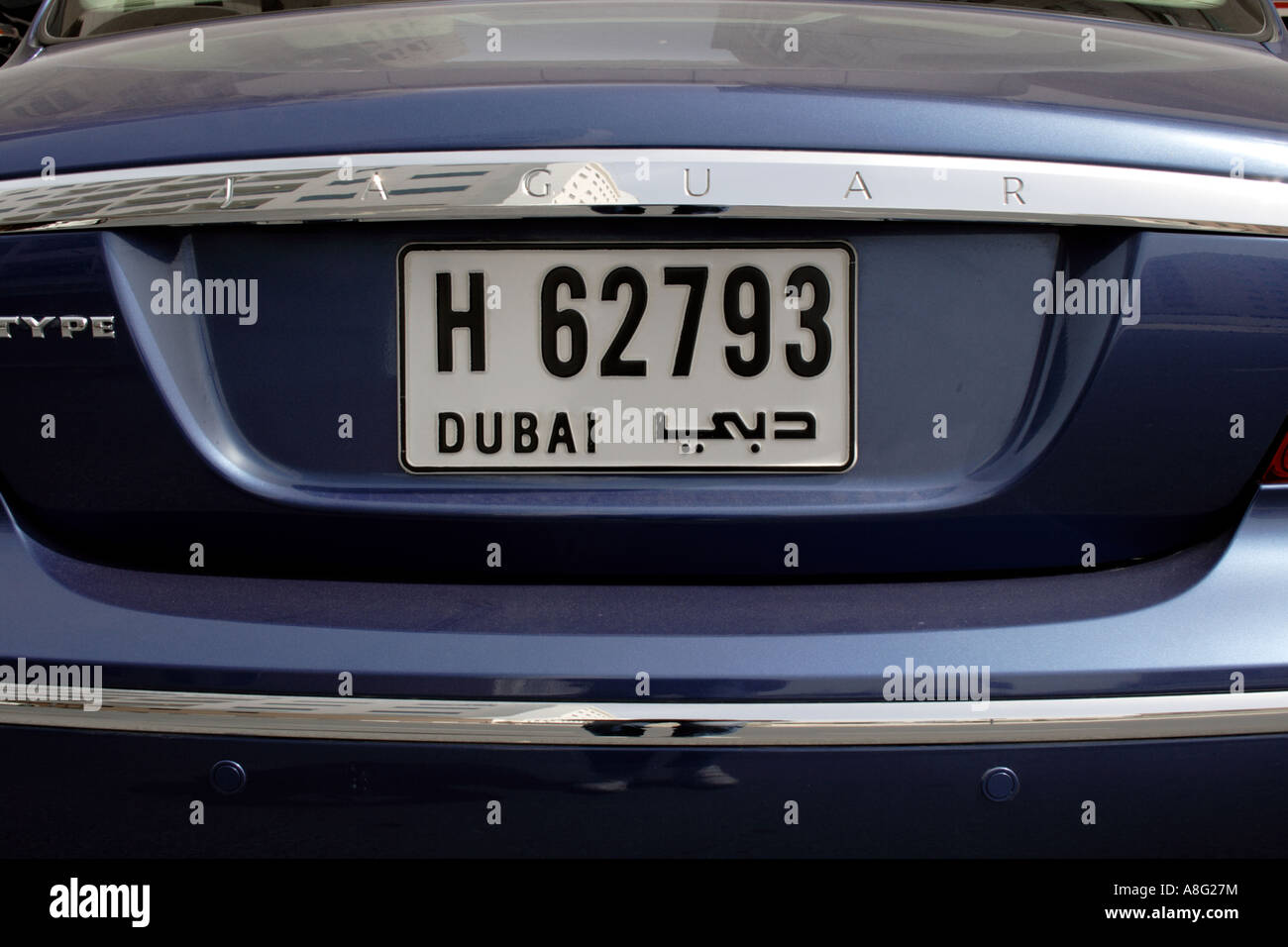 dubai license plate photos dubai license plate images alamy. Black Bedroom Furniture Sets. Home Design Ideas