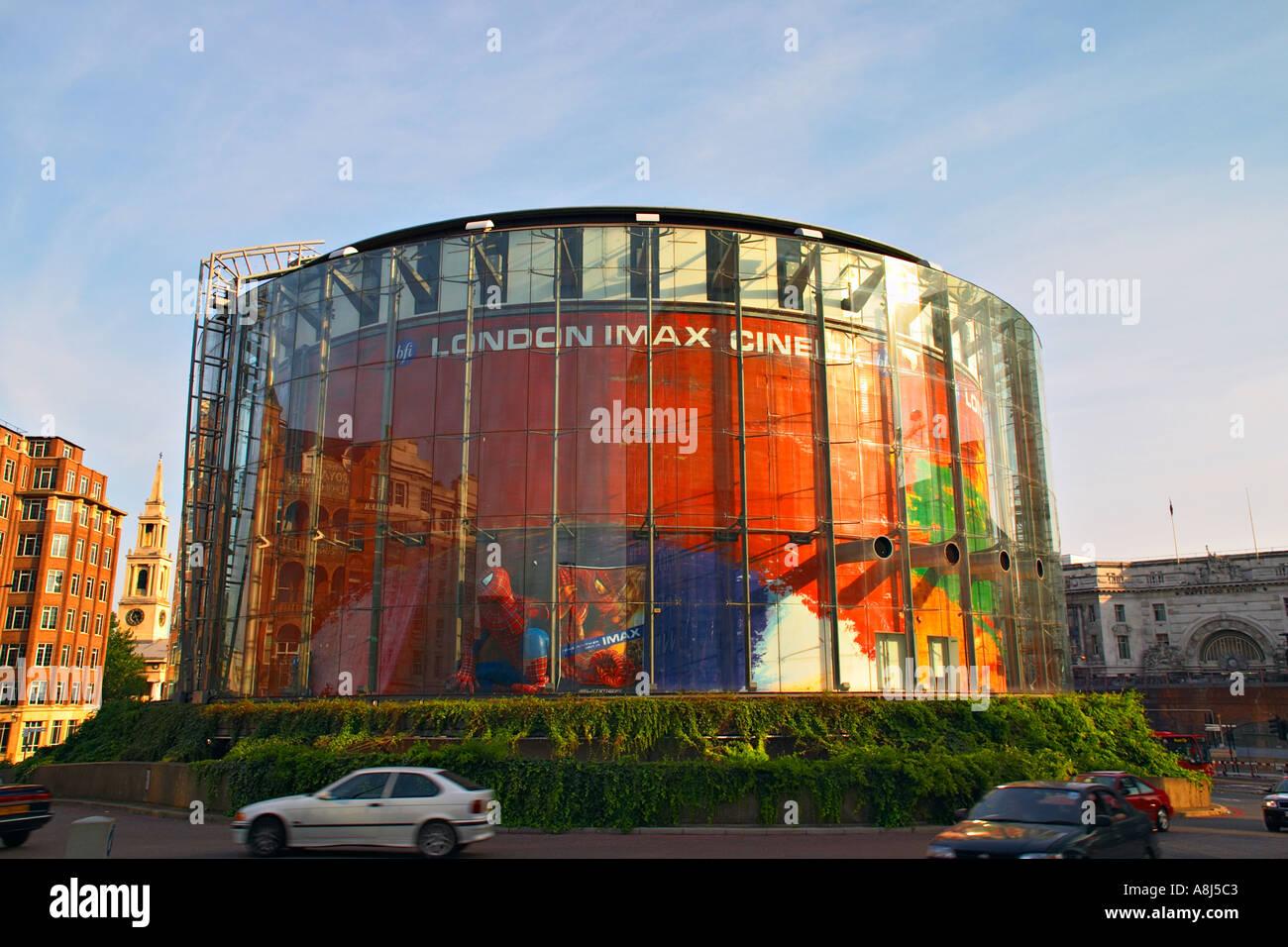 Le cinéma IMAX de Londres Uk Photo Stock