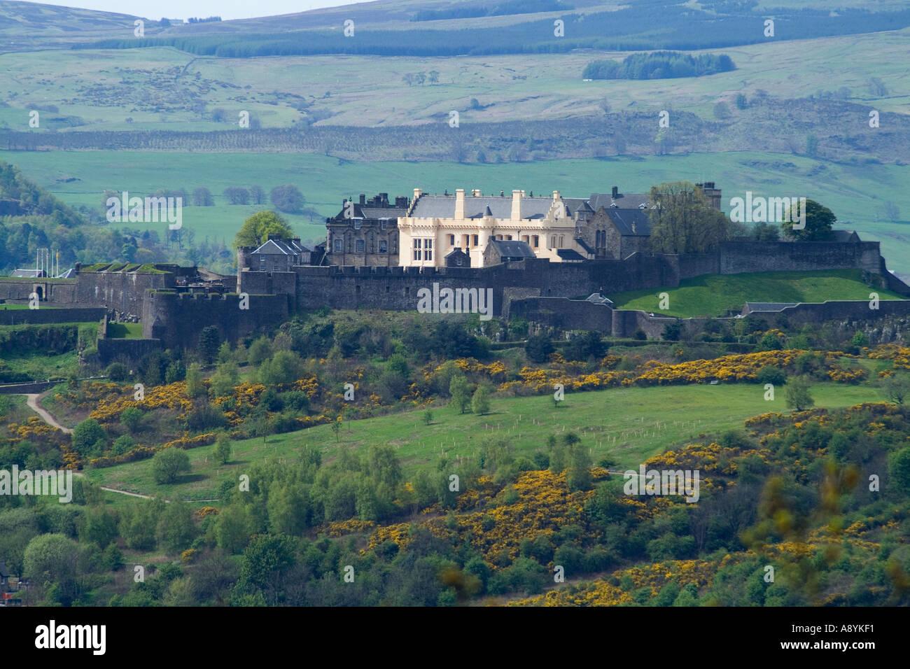 dh STIRLING STIRLINGSHIRE Château de Stirling châteaux historiques écossais écosse Banque D'Images