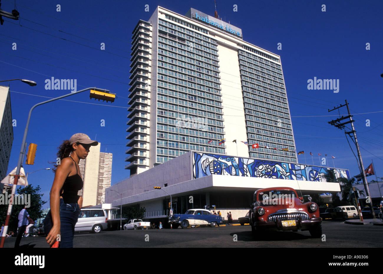 L'hôtel Habana Libre Vedado La Havane Cuba Photo Stock