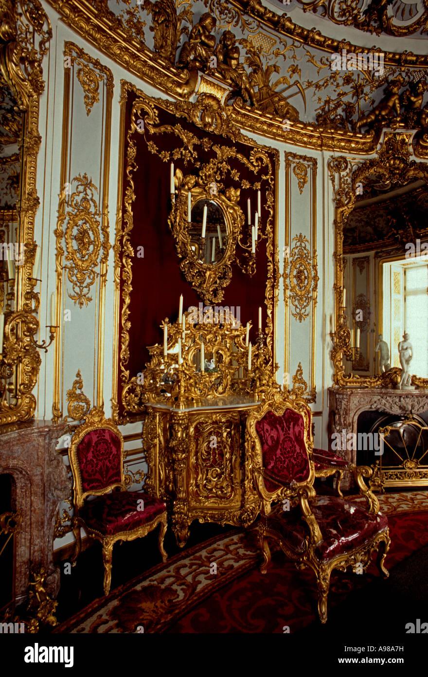 linderhof castle interior photos linderhof castle interior images alamy. Black Bedroom Furniture Sets. Home Design Ideas