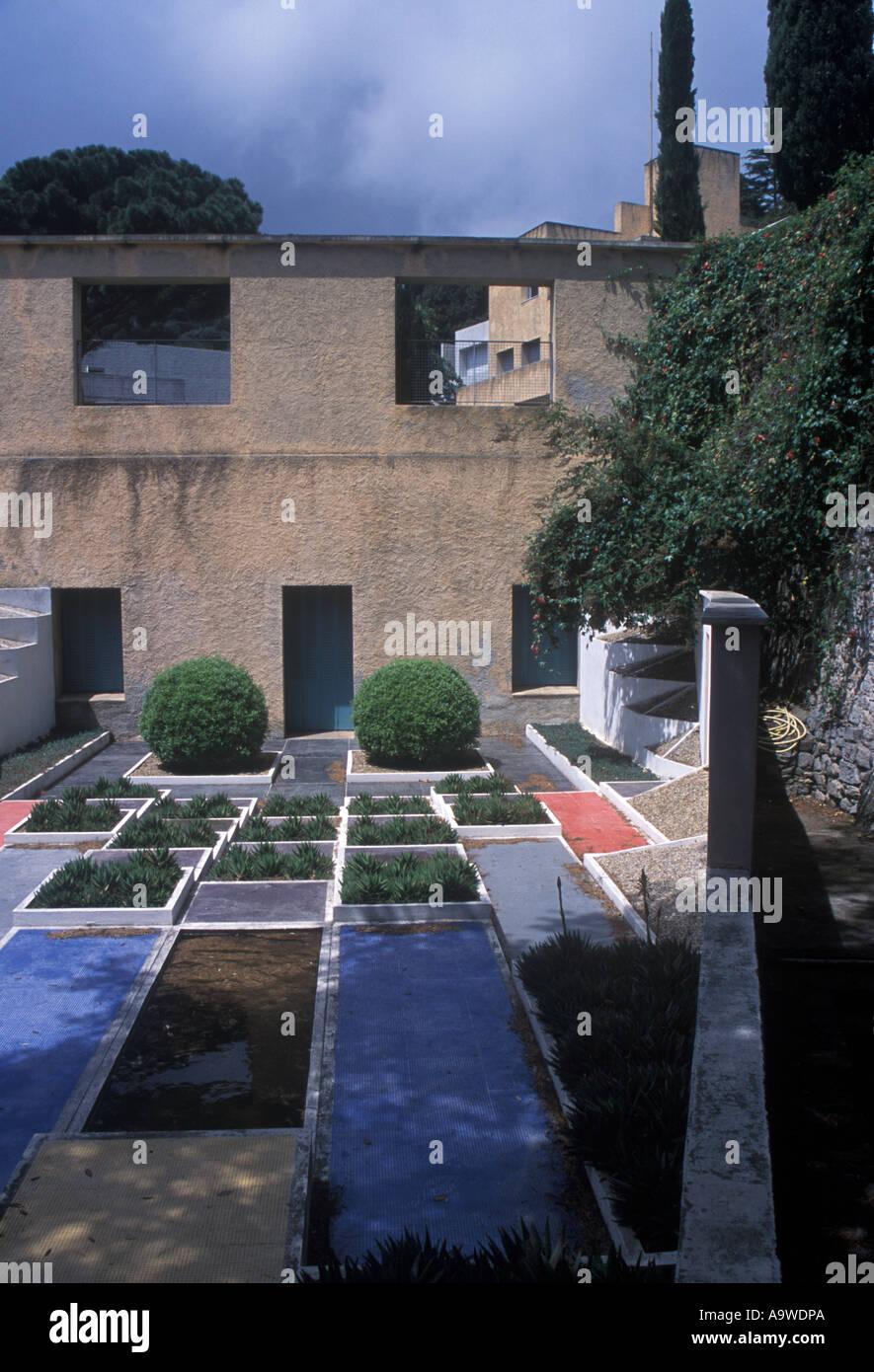 Le jardin cubiste de la Villa Noailles Hyères Cote d Azur Var France ...