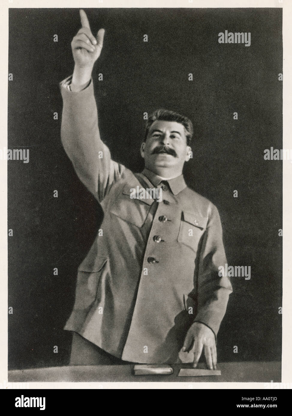 Staline pérorer Photo Stock