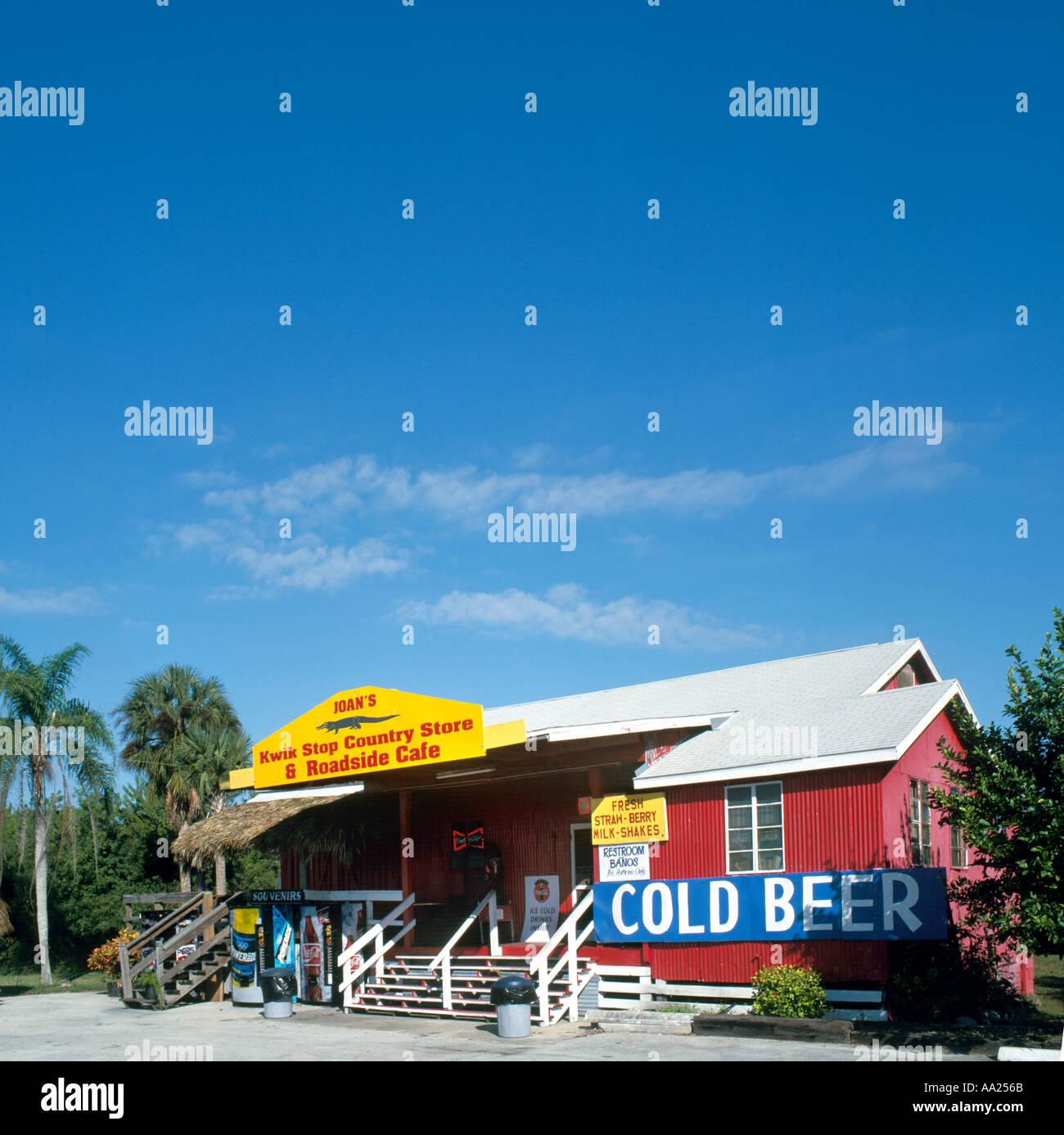 Country Store sur l'autoroute 41, Everglades, Florida, USA Banque D'Images