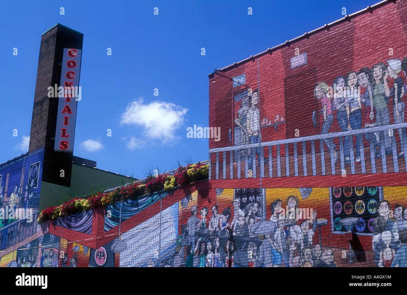 Murales De Un Bar
