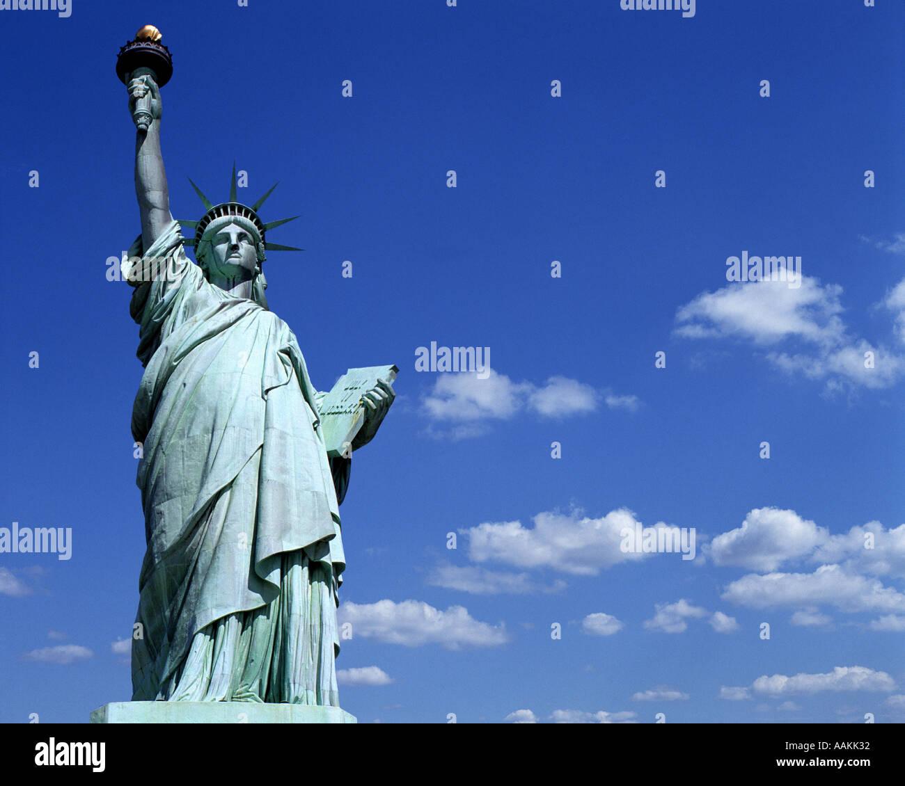 USA - NEW YORK: Statue de la Liberté Photo Stock