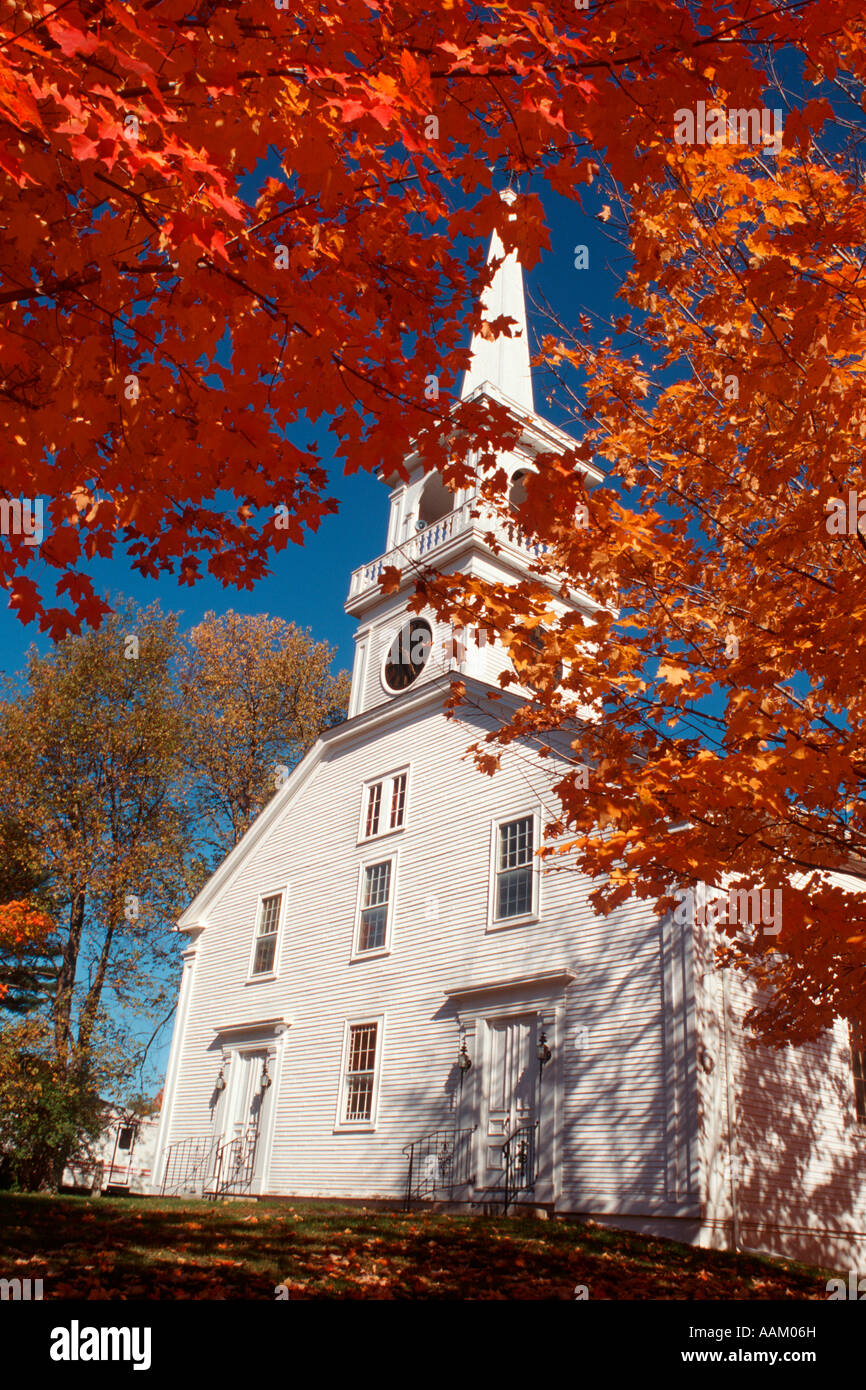 UNITED CHURCH DE VAL VAL D'IRONWORKS IRONWORKS NH Photo Stock