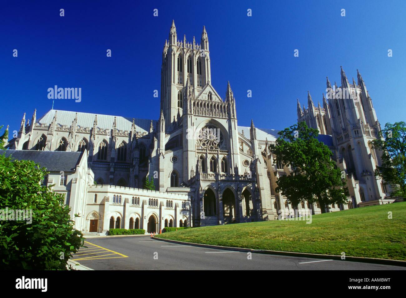 WASHINGTON DC WASHINGTON NATIONAL CATHEDRAL Photo Stock
