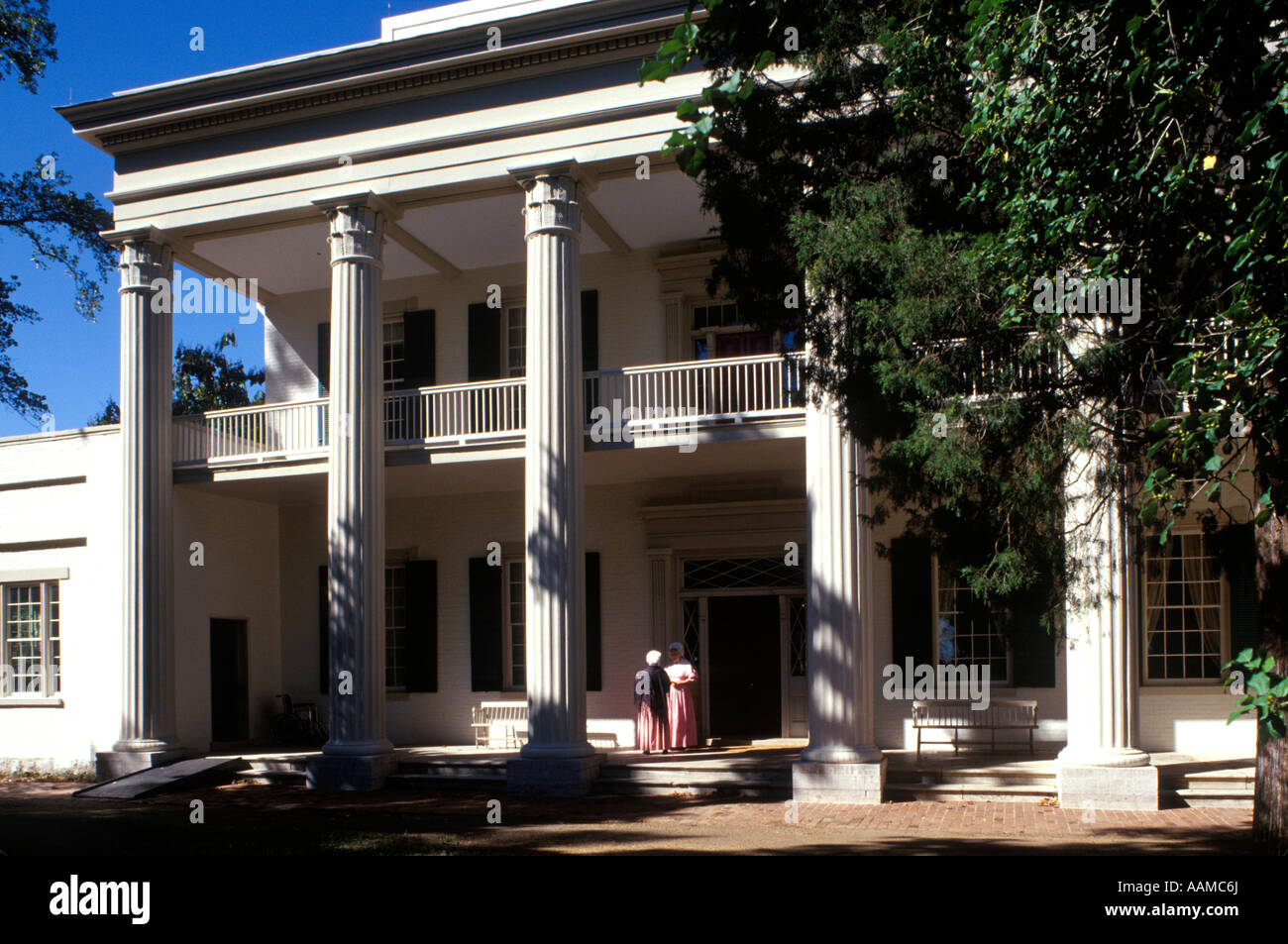 NASHVILLE TN HERMITAGE PLANTATION ACCUEIL DU PRÉSIDENT ANDREW JACKSON Photo Stock