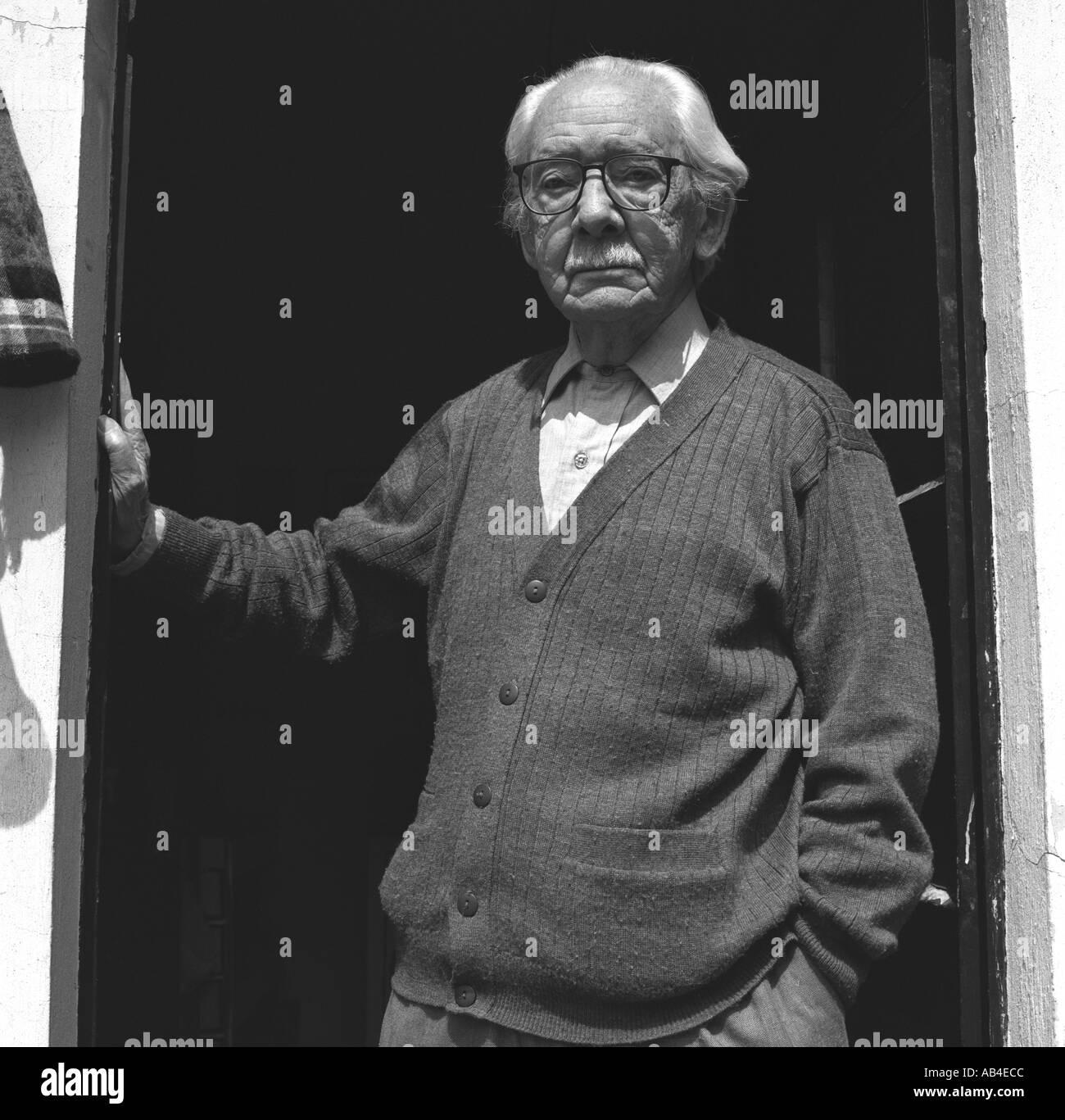 Portrait du photographe Mexicain Manuel Alvarez Bravo à son