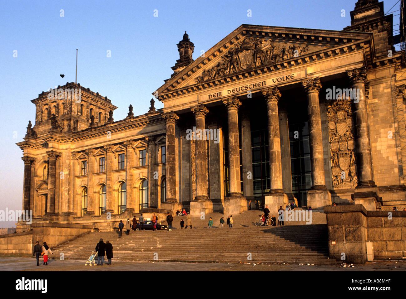 Allemagne Berlin Musée allemand de l'Antiquité Photo Stock