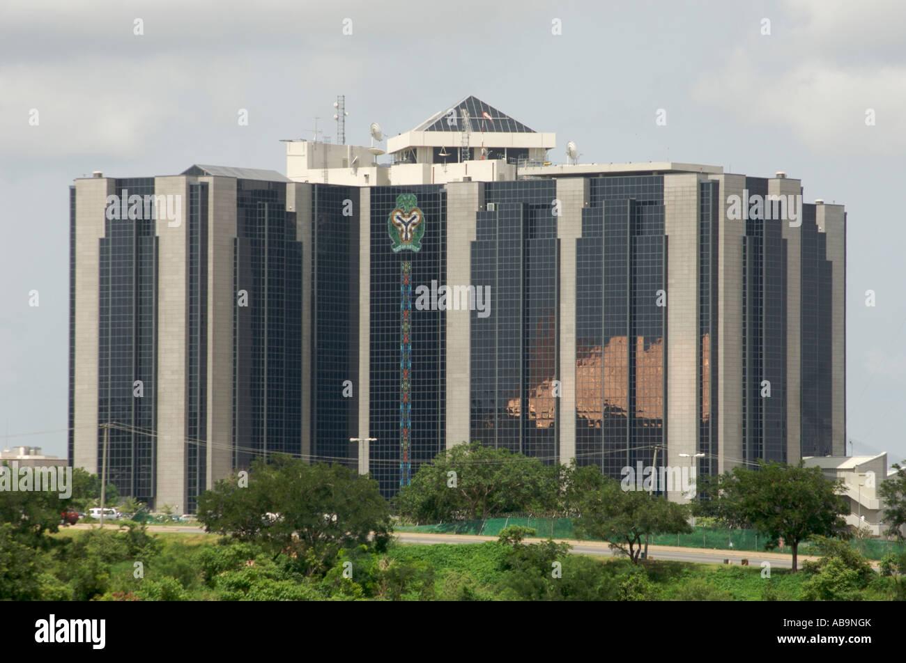 La banque centrale du nigéria abuja nigéria photo stock