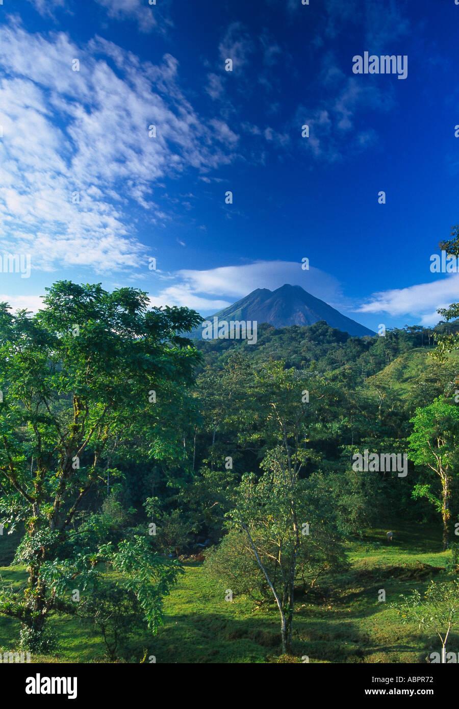 Volcan Arenal Zona Norte Costa Rica Photo Stock