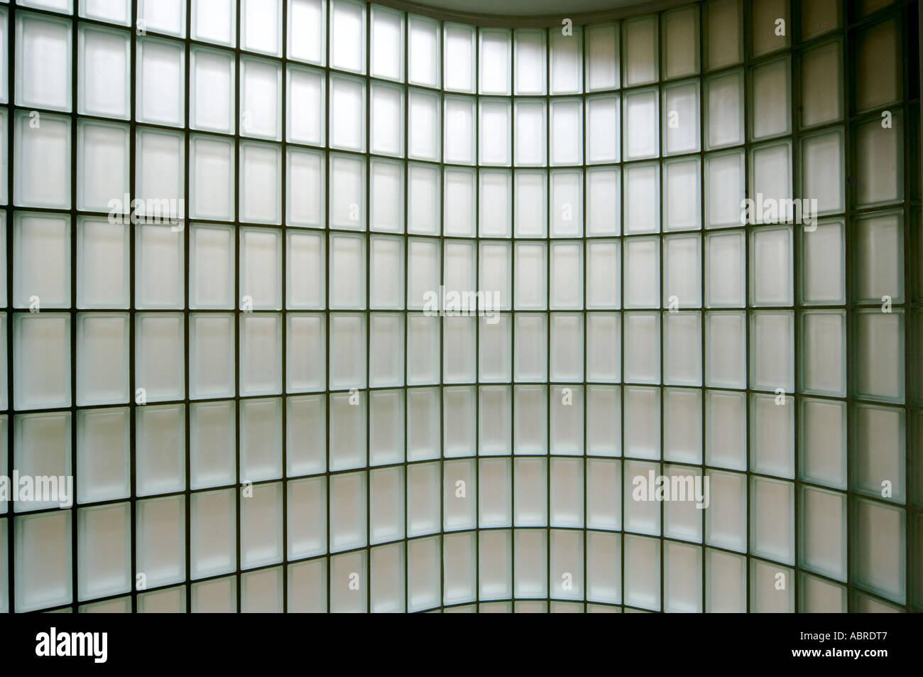 Petit carré de mur en briques de verre design pattern ...