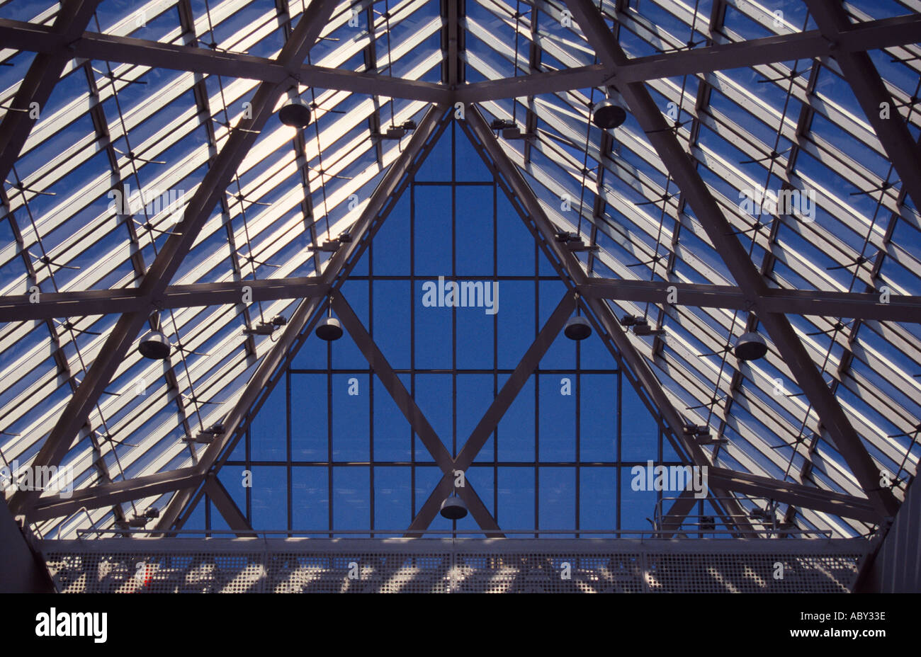 Atrium du Musée National de Copenhague Danemark Nationalmuseet Banque D'Images