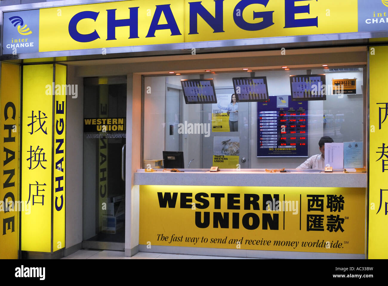 Exchange western union office in photos & exchange western union