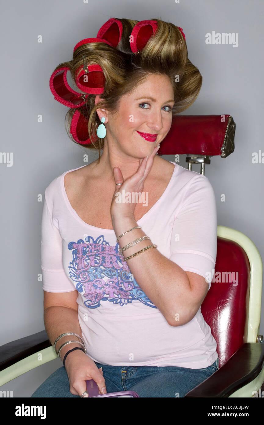 Retro Hair Salon Banque D Image Et Photos Alamy