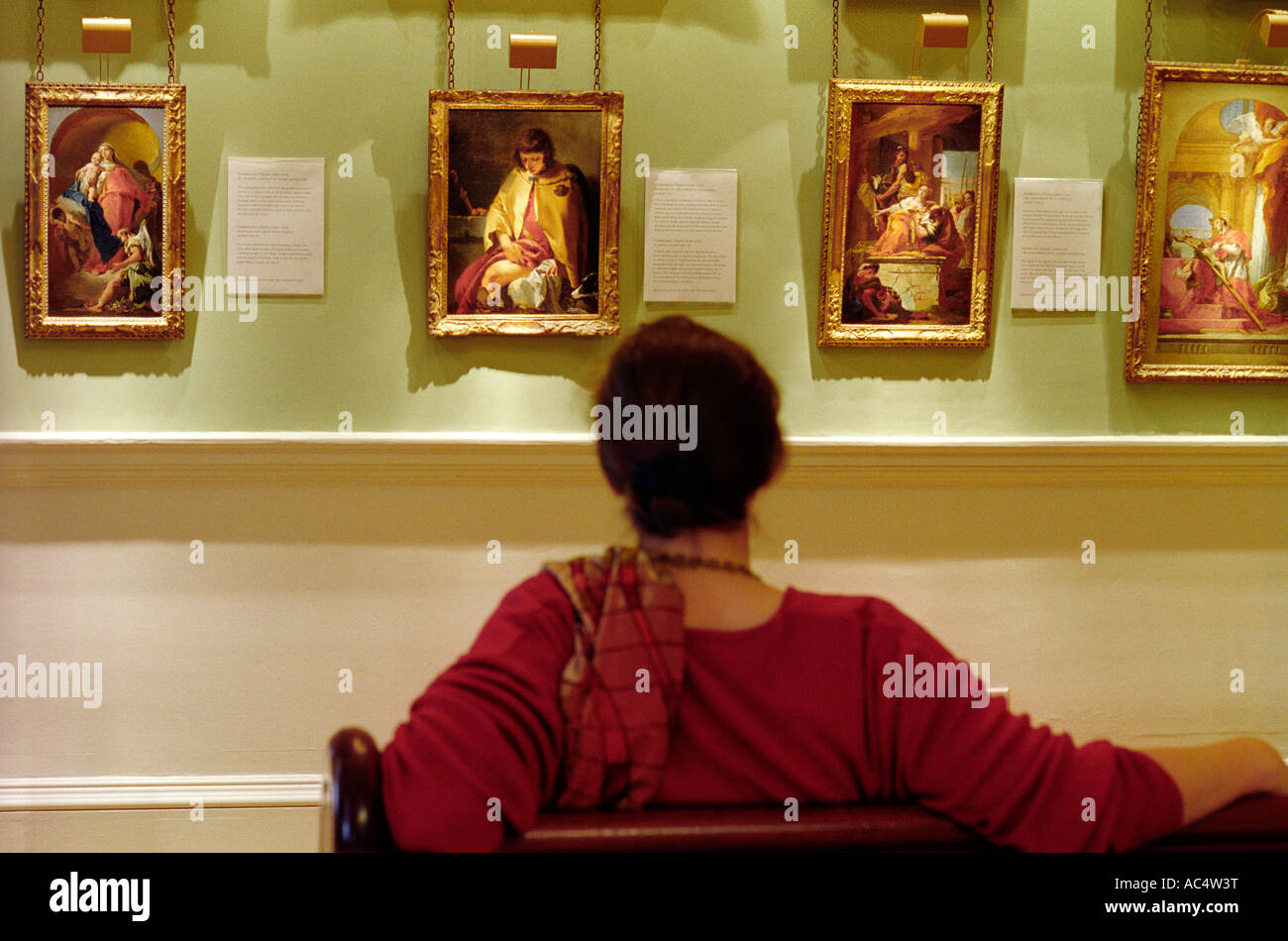 Courtauld Institute of Art Hermitage Rooms Somerset House Londres Photo Stock