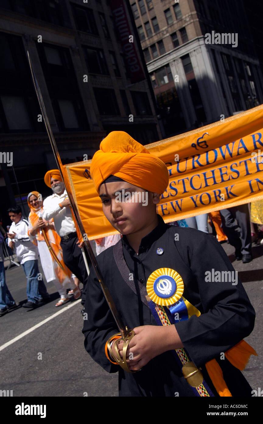 Sikh datant de New York
