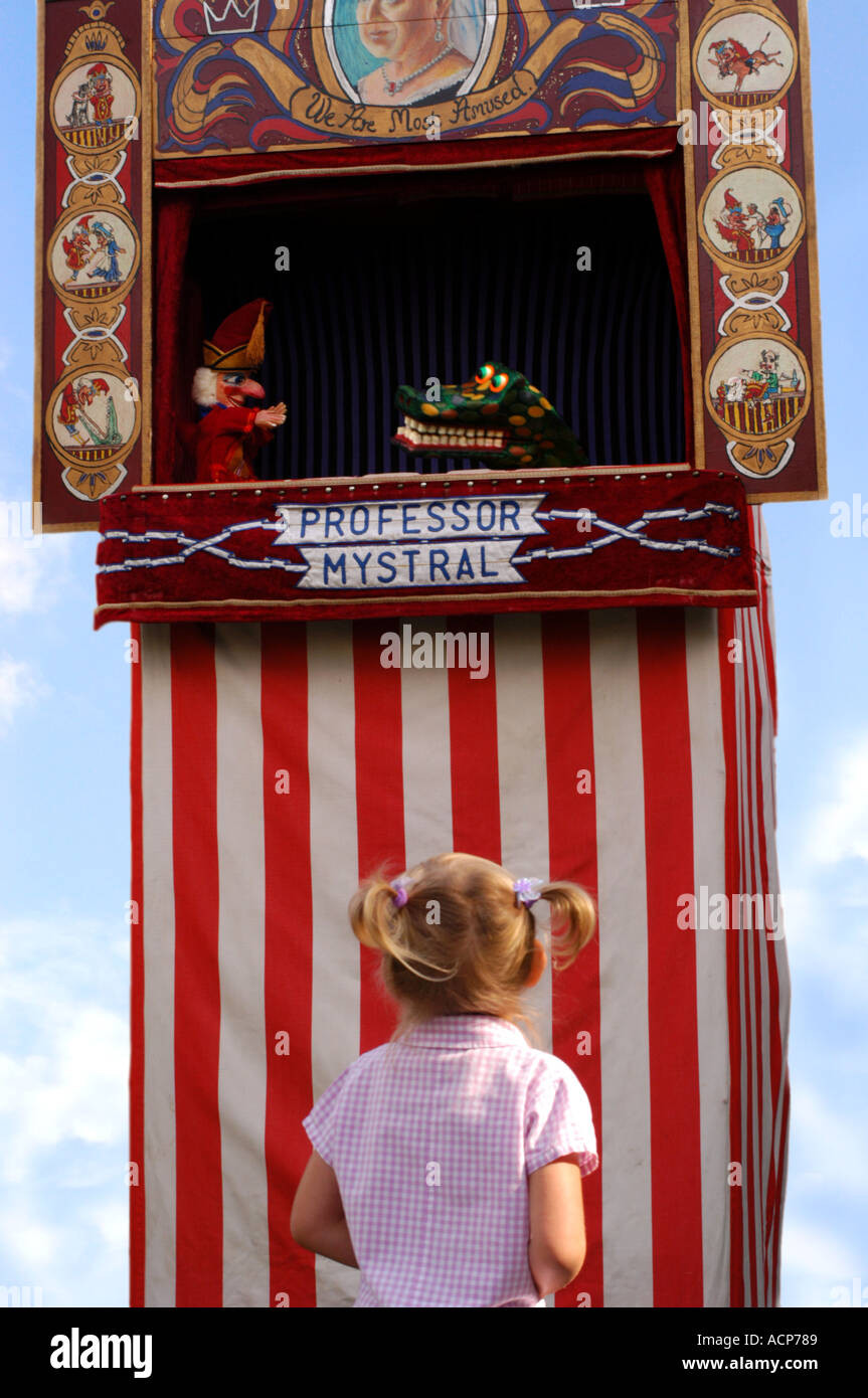 PUNCH ET JUDY show Photo Stock