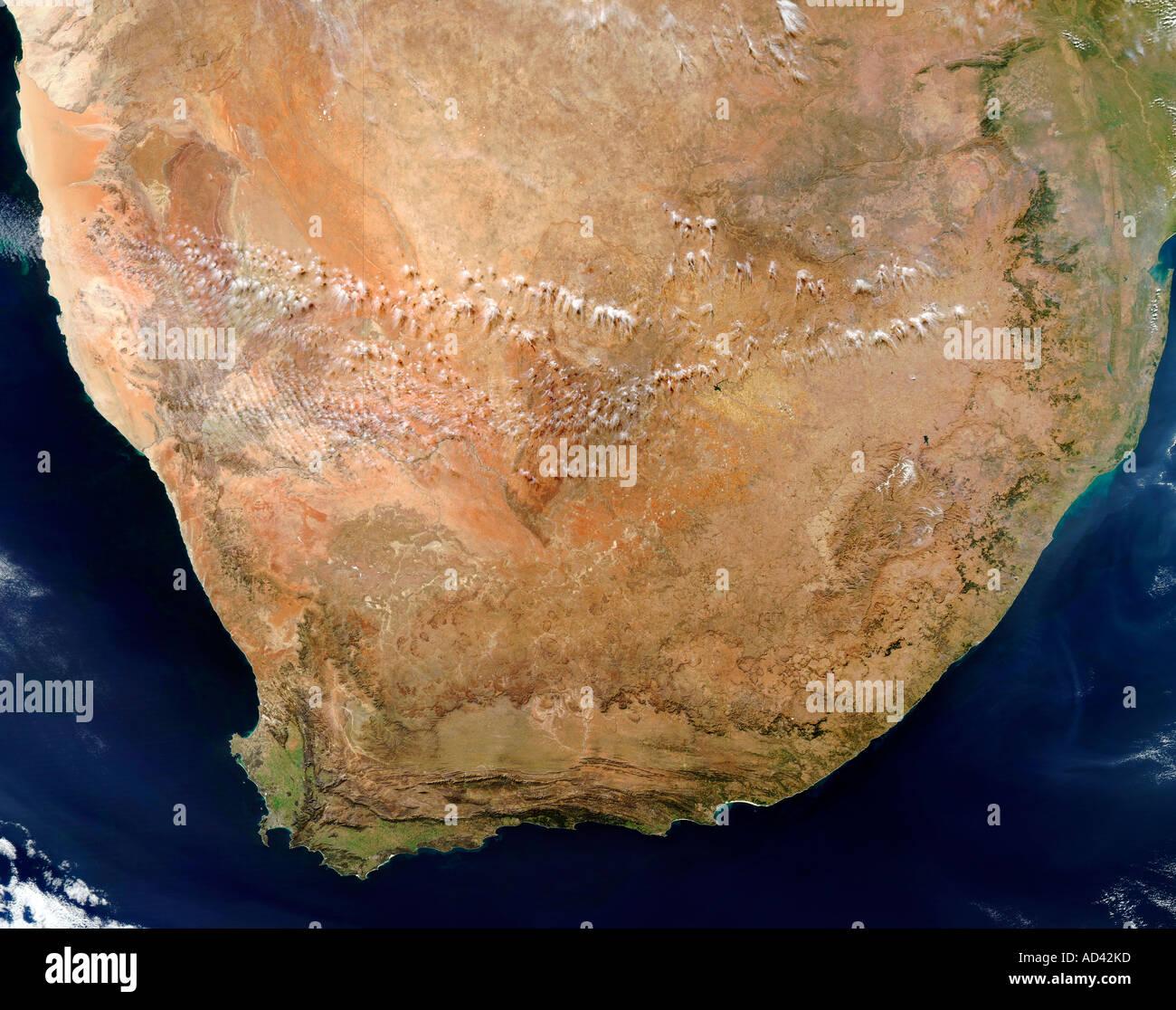 Carte Satellite Afrique Du Sud.Satellite Image Africa Photos Satellite Image Africa