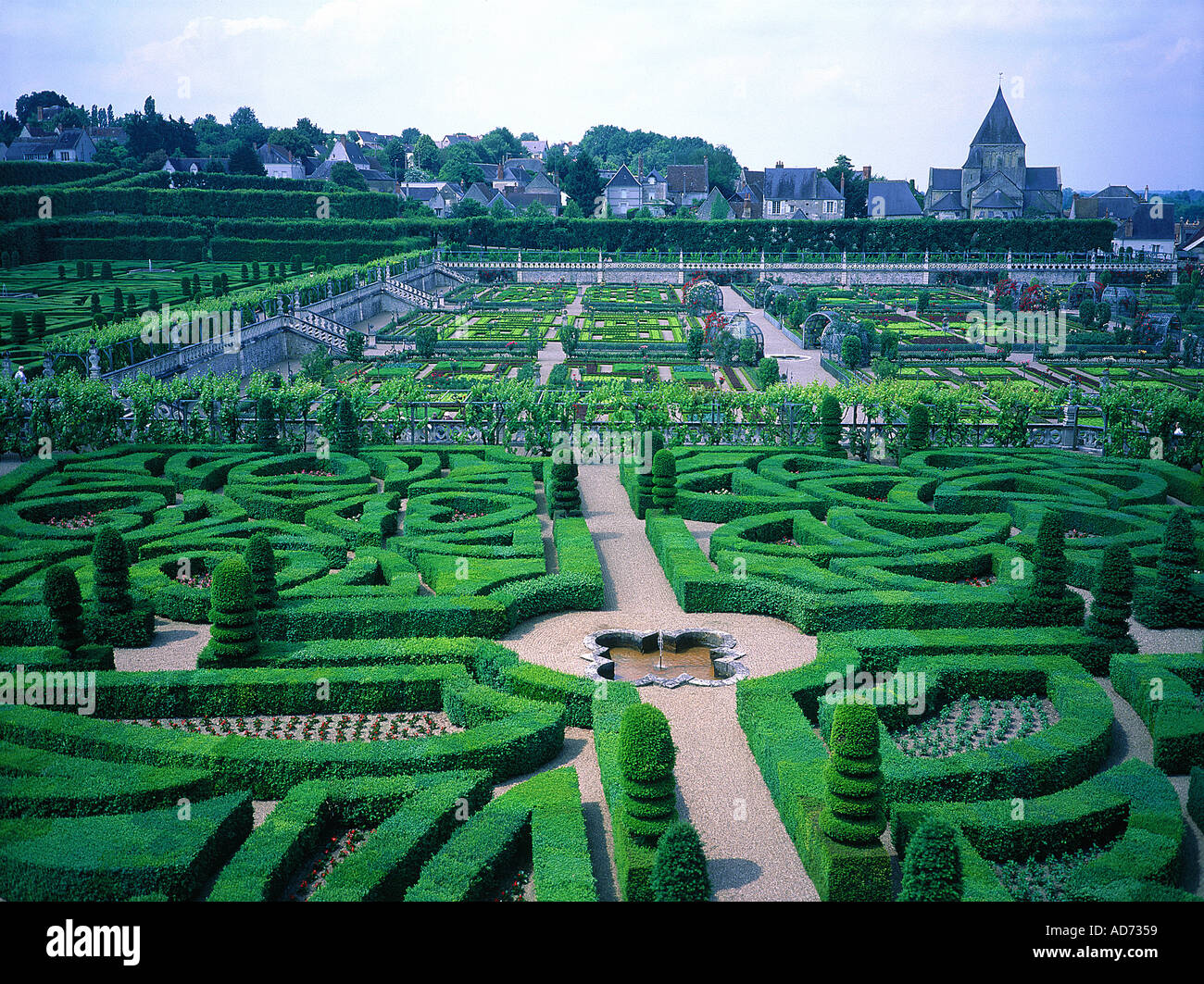 Jardin Classique À La Française villandry 37 villandry castle photos & villandry 37