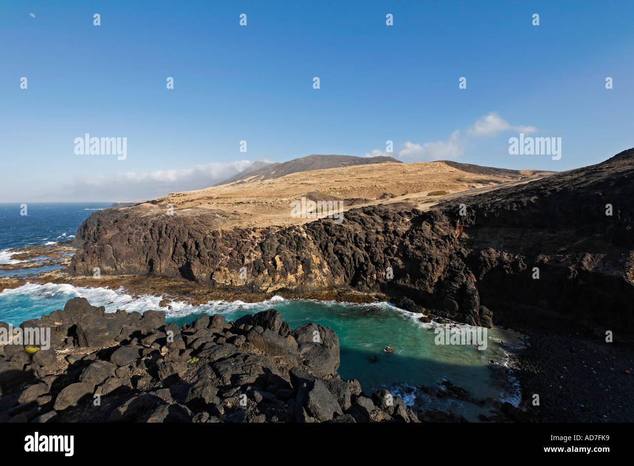 Punta del Rayo Jandia Fuerteventura Canaries Photo Stock