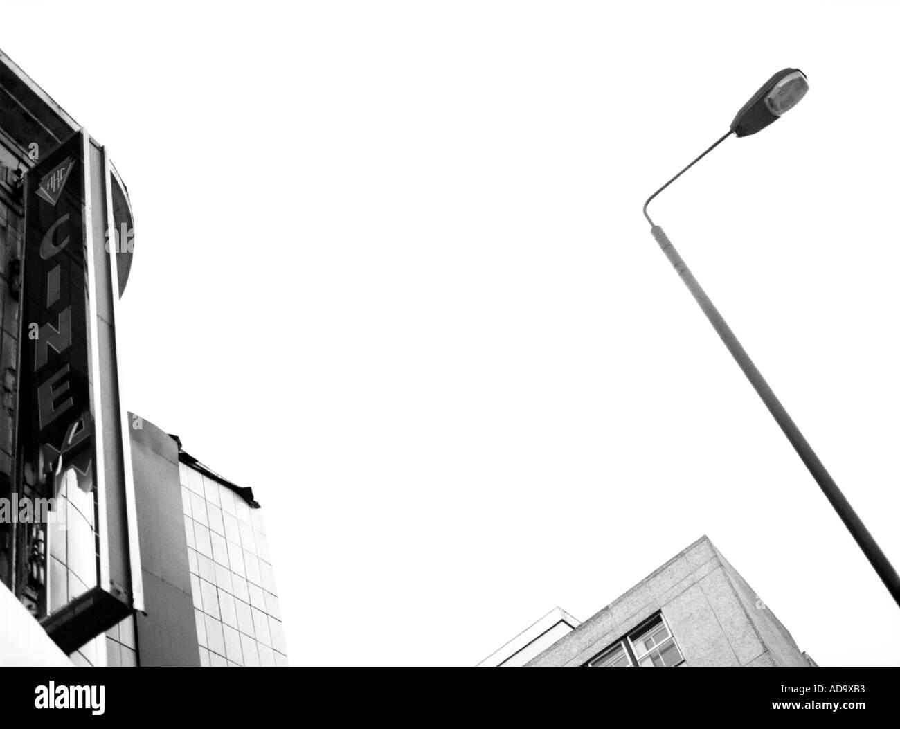 Cinéma ABC fermé Photo Stock