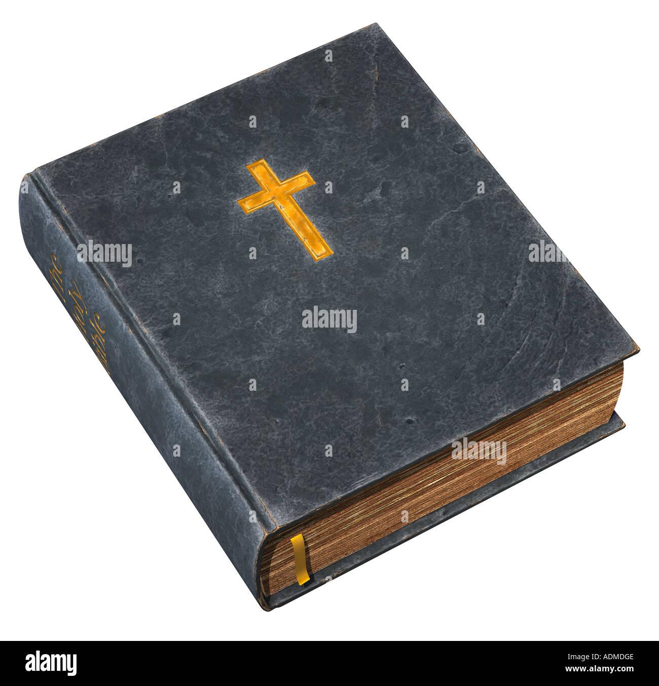 Vieille Bible Banque D'Images