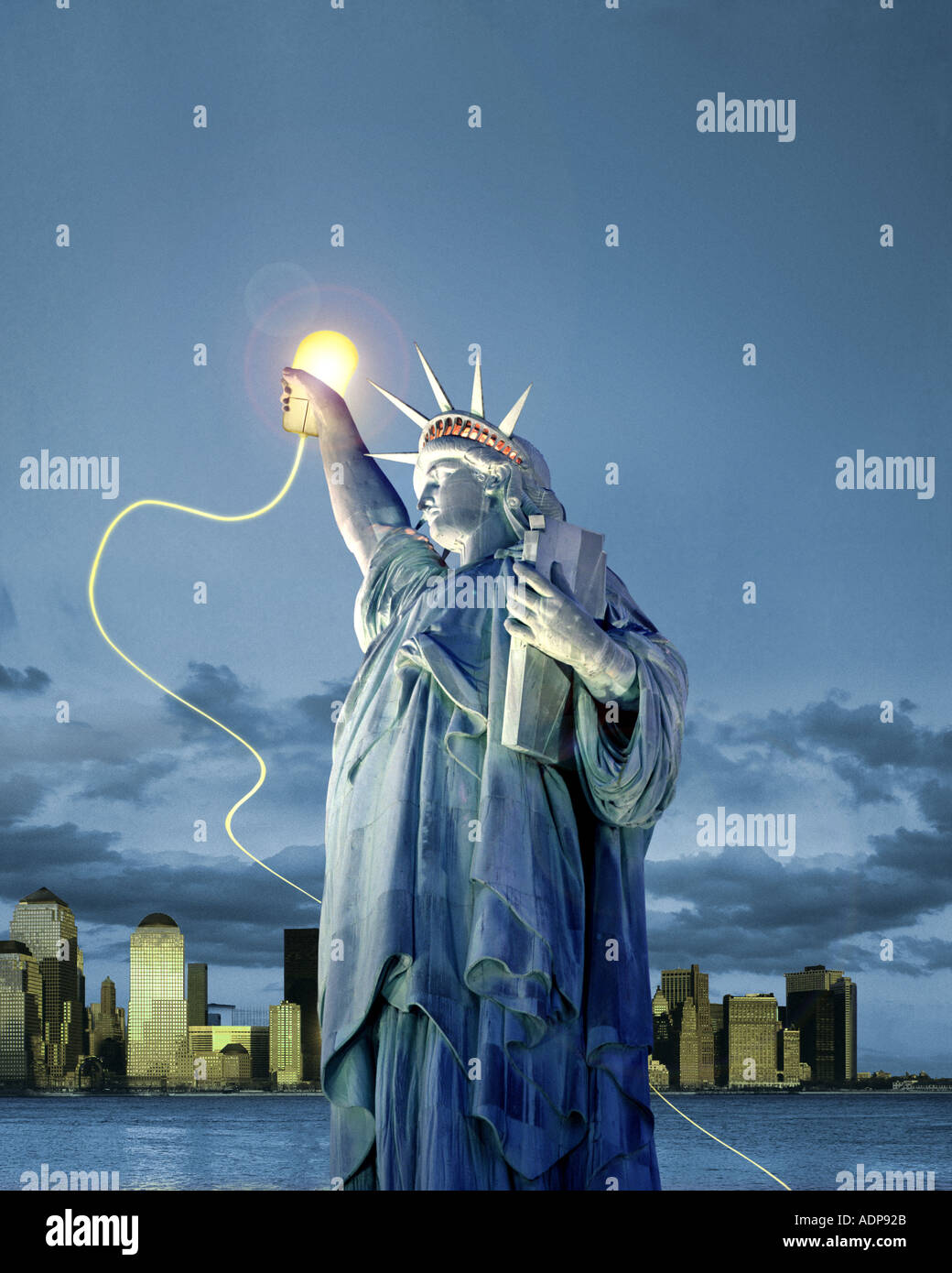 USA - NEW YORK : Liberty Online Photo Stock