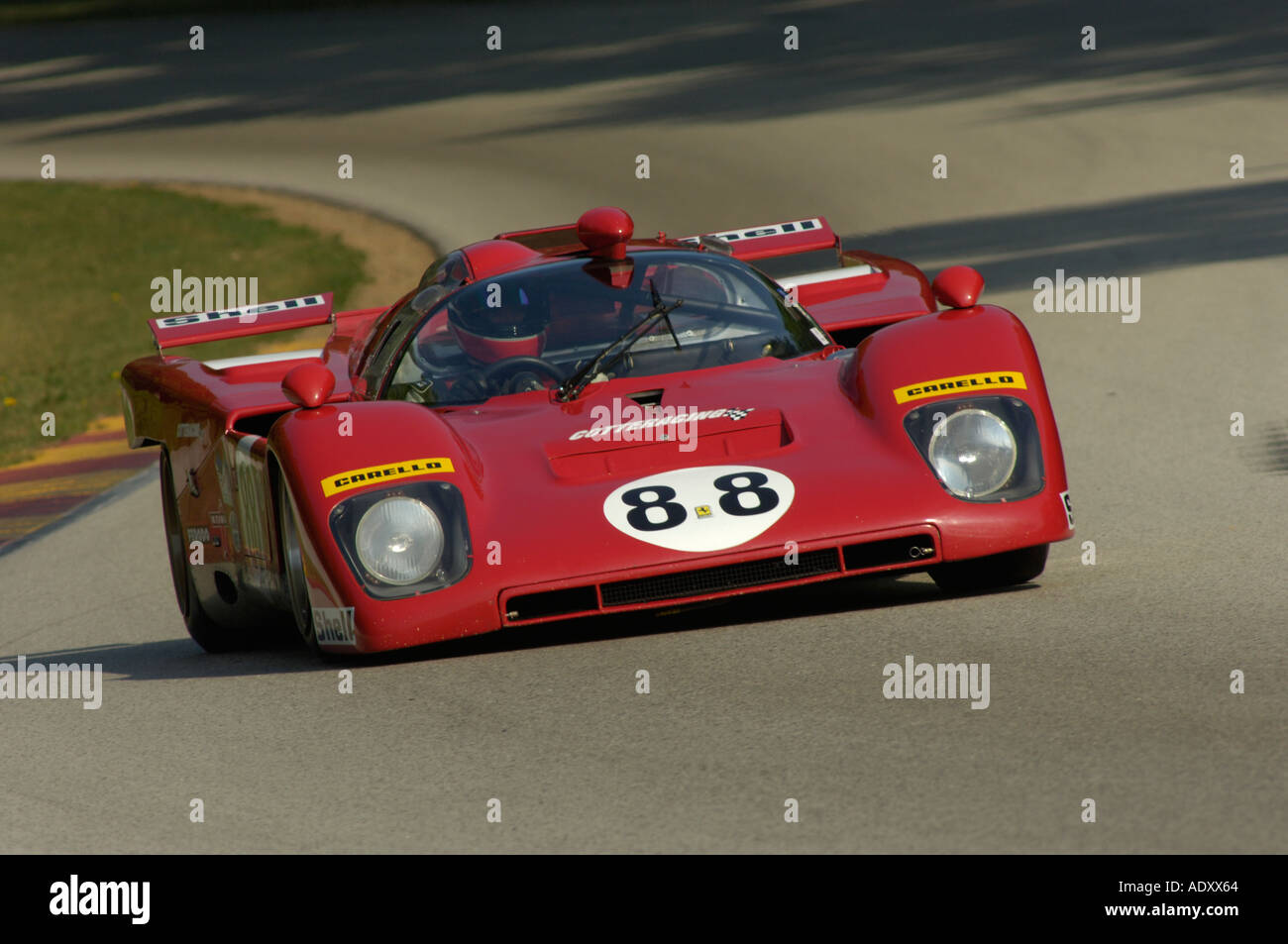 ferrari historic challenge photos ferrari historic challenge images alamy. Black Bedroom Furniture Sets. Home Design Ideas