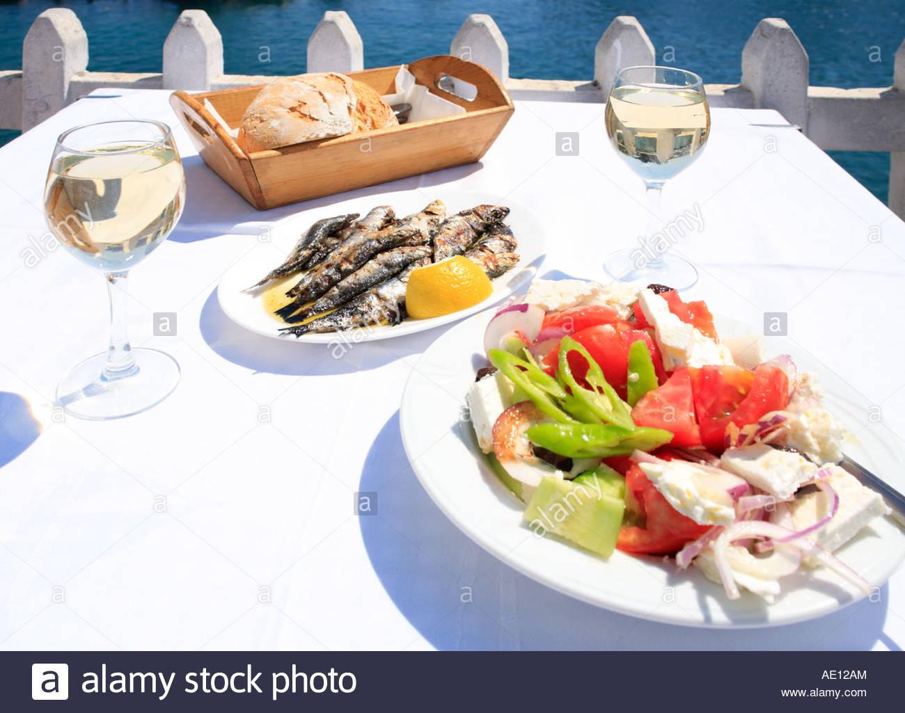 Chalkidice photos chalkidice images alamy for Cuisine grecque