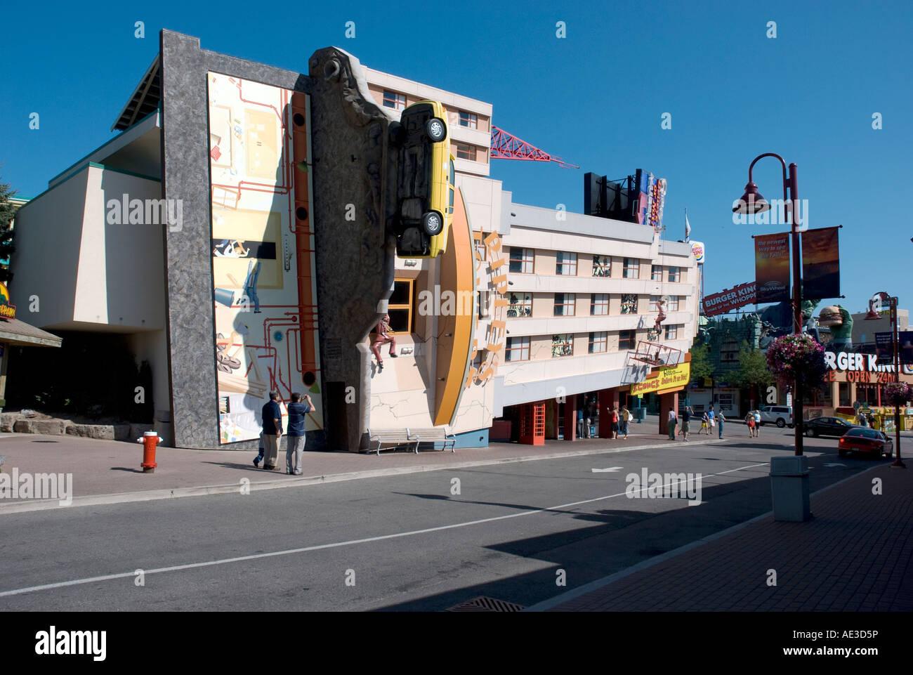 Ripley s Déménagement Theatre Clifton Hill Niagara Falls, Canada Photo Stock