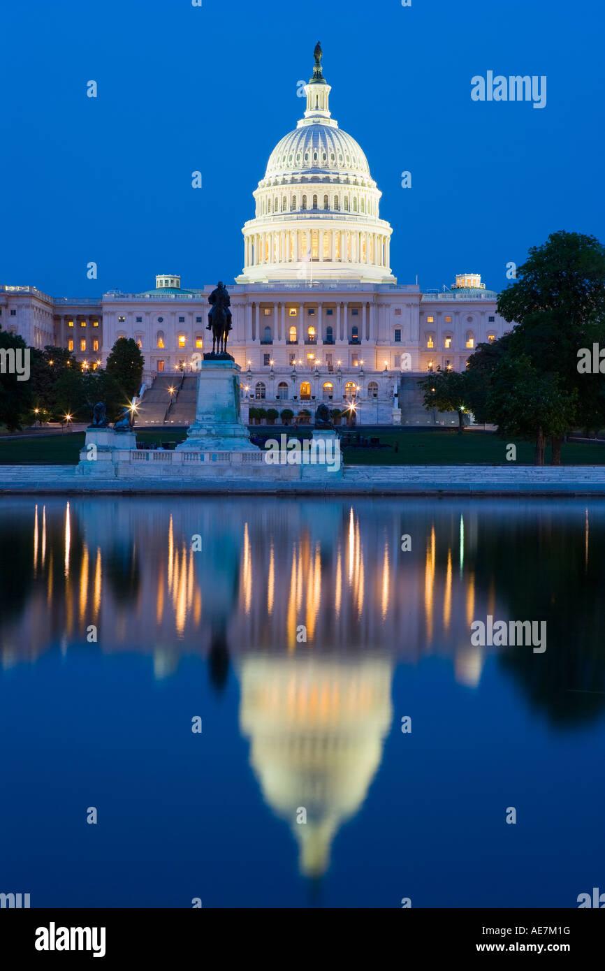 USA Washington DC, la construction d'immobilisations Banque D'Images