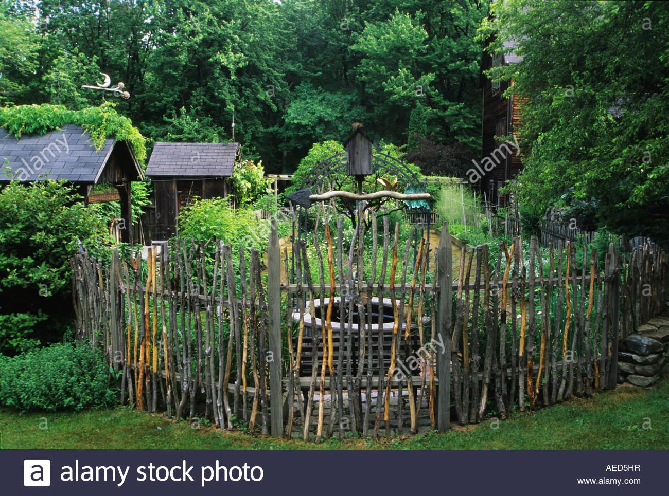 Stunning Cloture De Jardin Rustique Photos - House Design ...